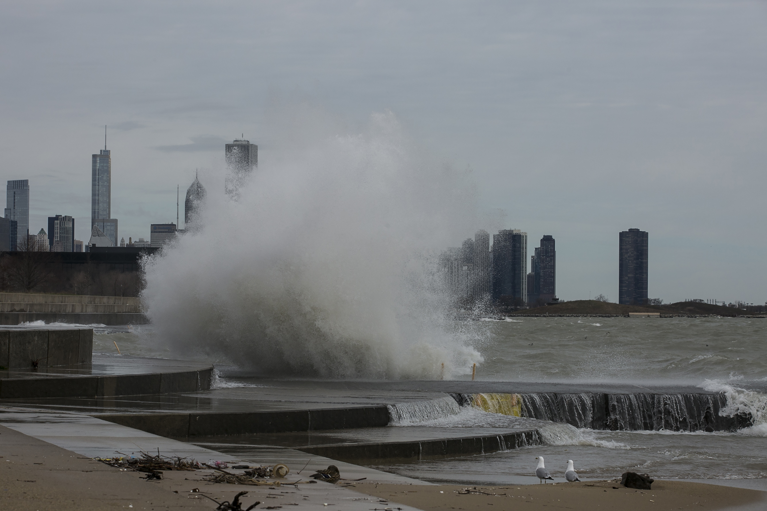 Blue Island resident Rene Padilla died after trying to rescue one of daughters Thursday in Lake Michigan near the 31st Street Beach. | Chicago Sun-Times file photo.