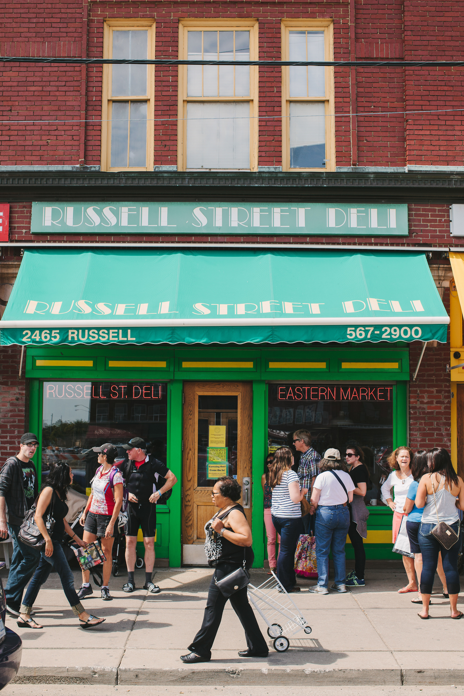 Eastern Market Staple Russell Street Deli Is Closing Sooner Than Expected