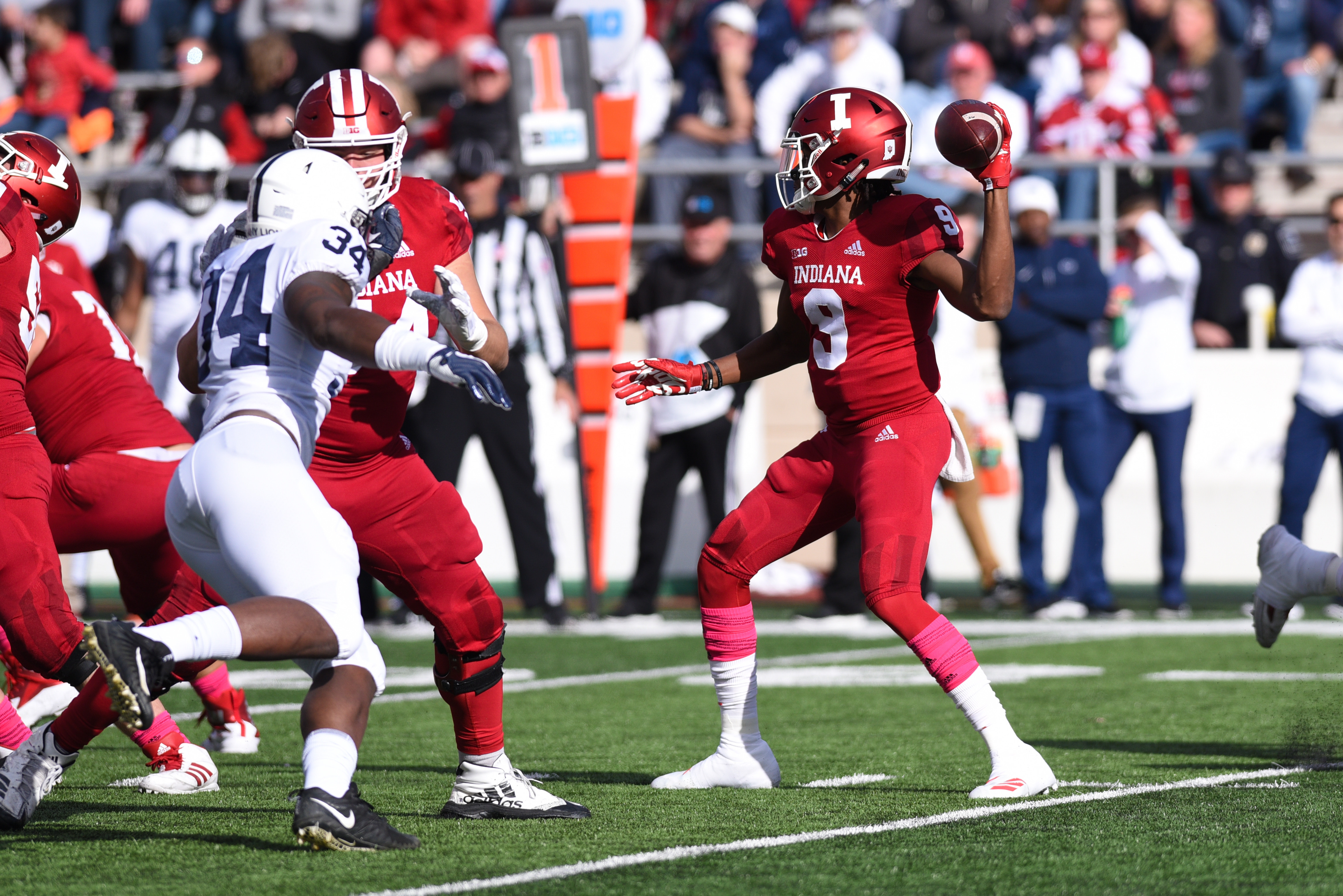 COLLEGE FOOTBALL: OCT 20 Penn State at Indiana