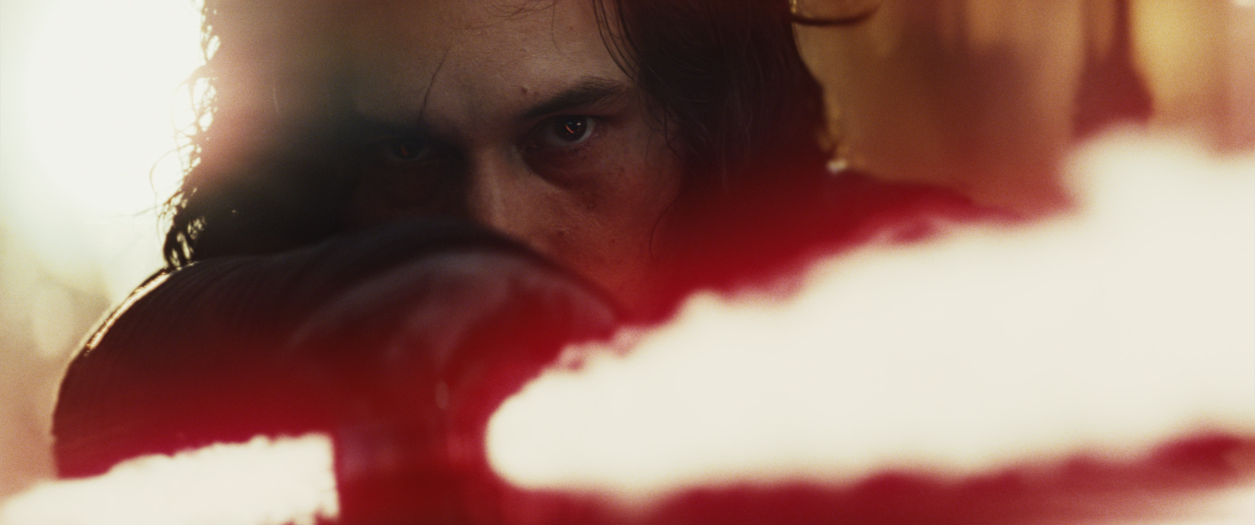 "Kylo Ren (Adam Driver) in ""Star Wars: The Last Jedi."""