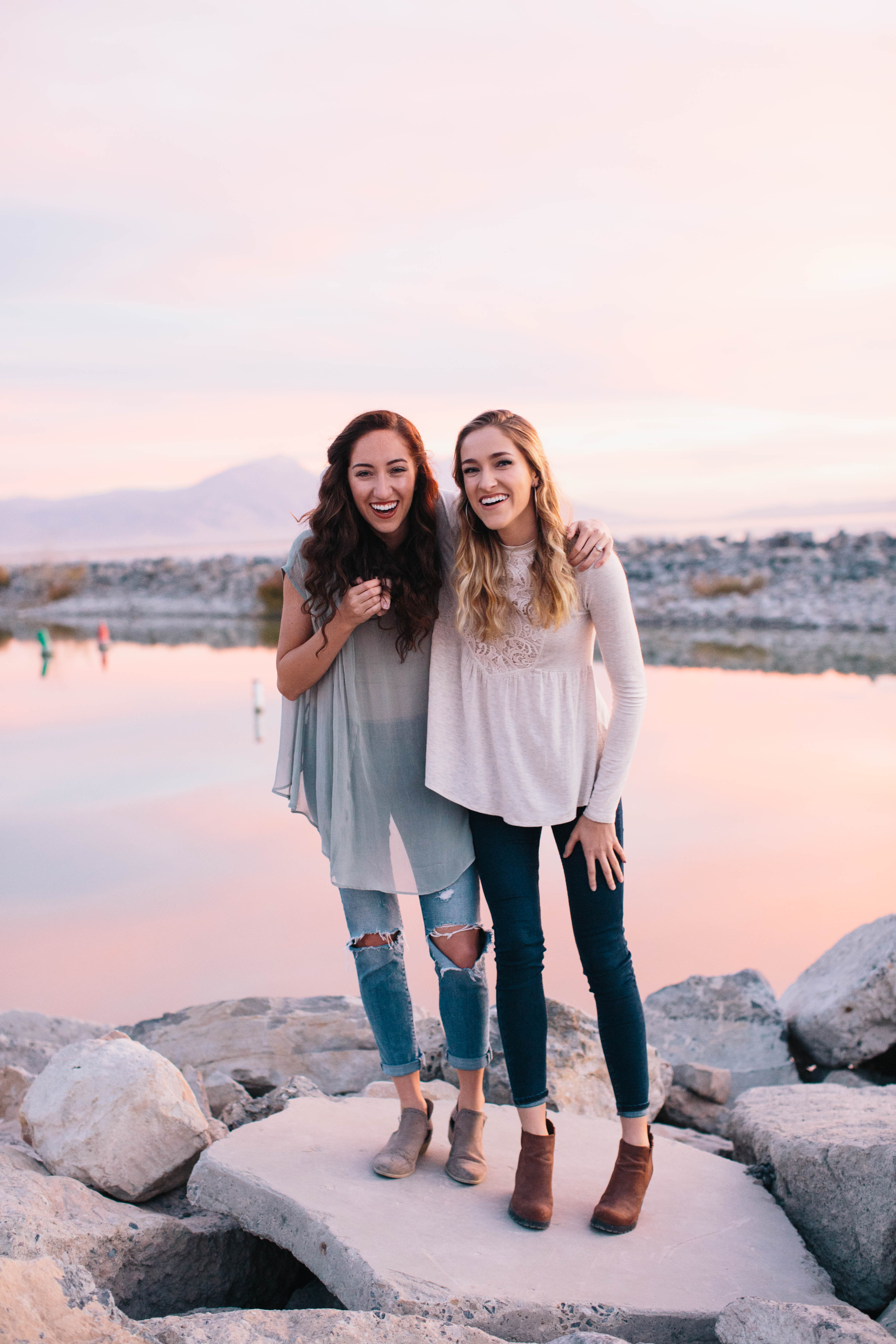 """Mandi Gardiner, left, and Hailey Gardiner are the authors of """"Sister Strong: Living in Harmony With the Women in Our Lives."""""""
