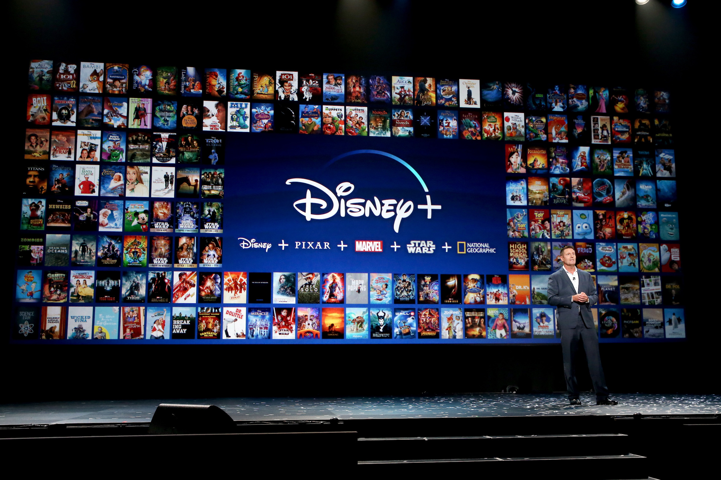 Chairman of Direct-to-Consumer & International division of The Walt Disney Company Kevin Mayer took part today in the Disney+ Showcase at Disney's D23 EXPO