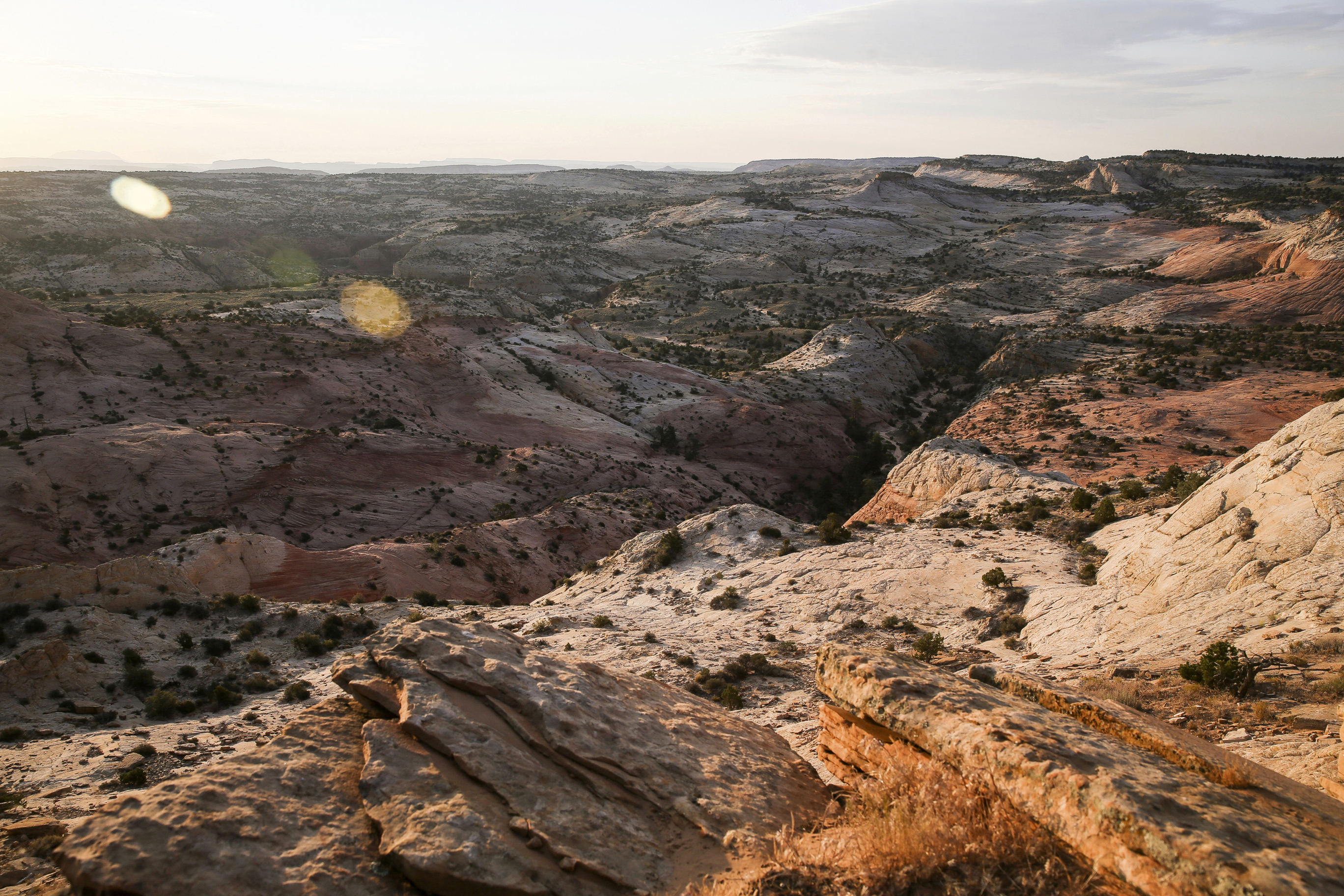 This July 9, 2017 file photo, shows a view of Grand Staircase-Escalante National Monument in Utah.