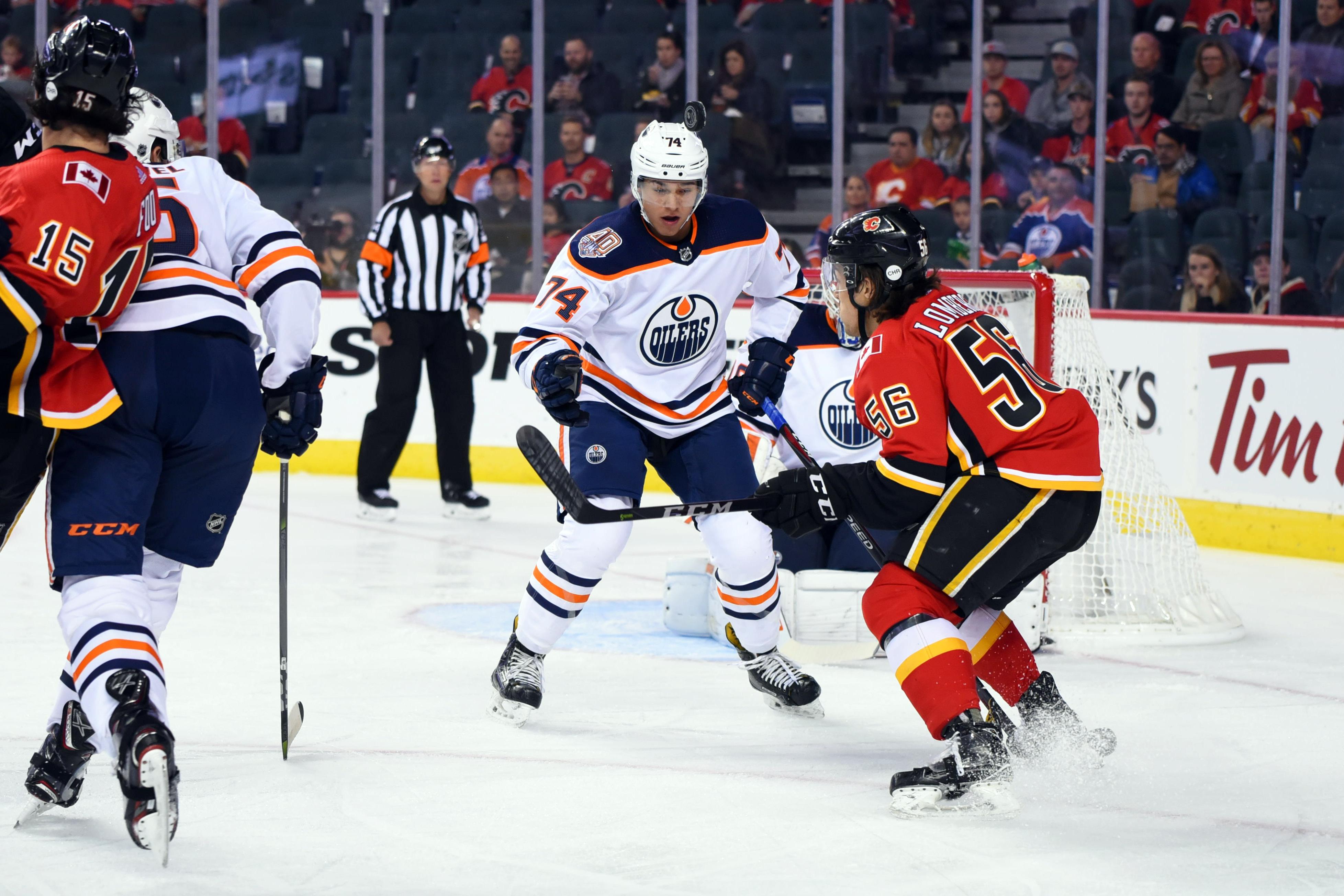 NHL: SEP 17 Preseason - Oilers at Flames