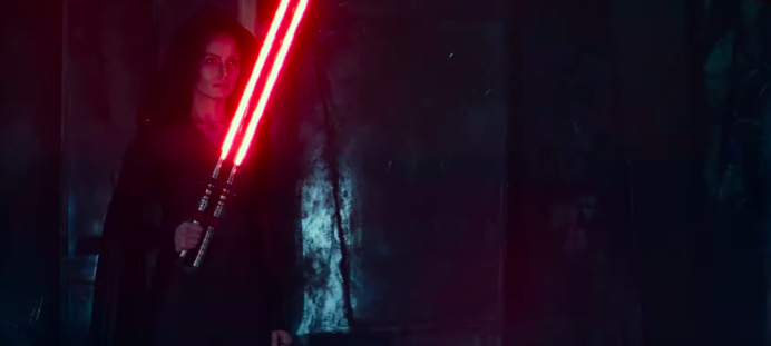 """Rey goes """"evil"""" in a new Star Wars trailer"""