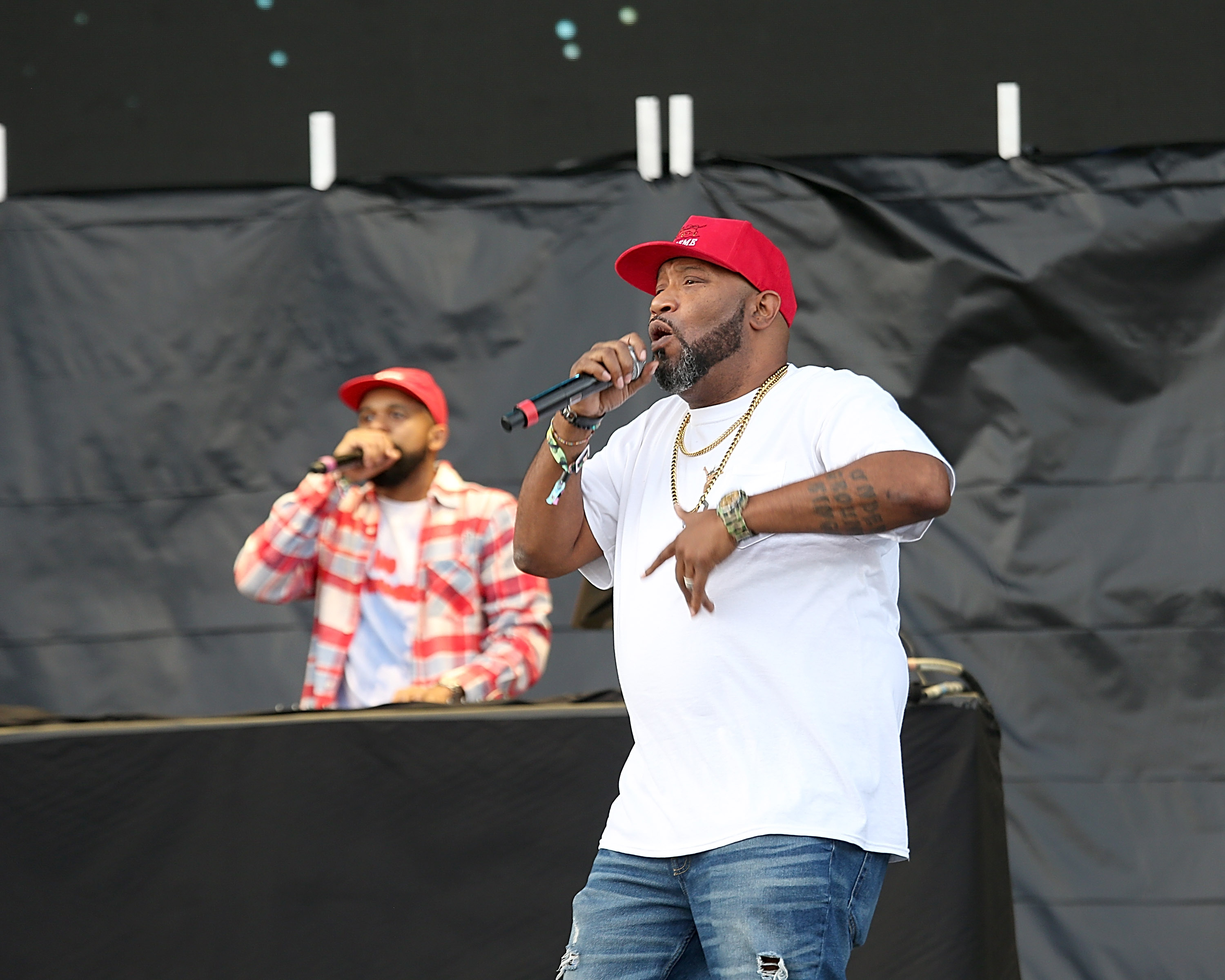 Bun B performing at Astroworld Festival in 2018