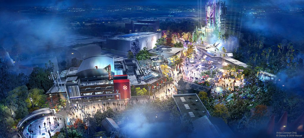 Disneyland's New Avengers Park Area Will Feature Some Very On-Brand Food Options