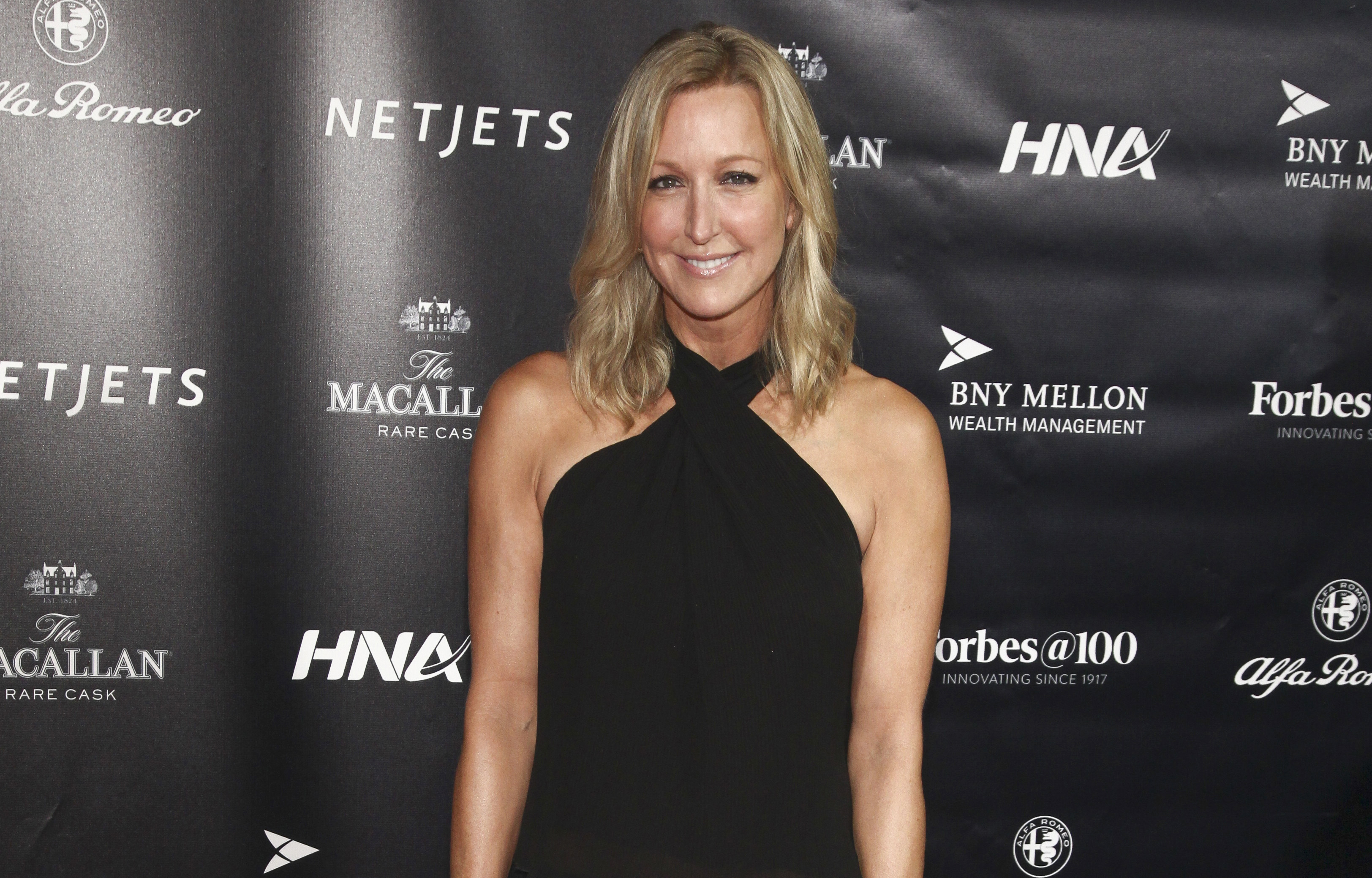 Lara Spencer attends the Forbes 100th Anniversary Gala at Pier Sixty in New York in 2017.