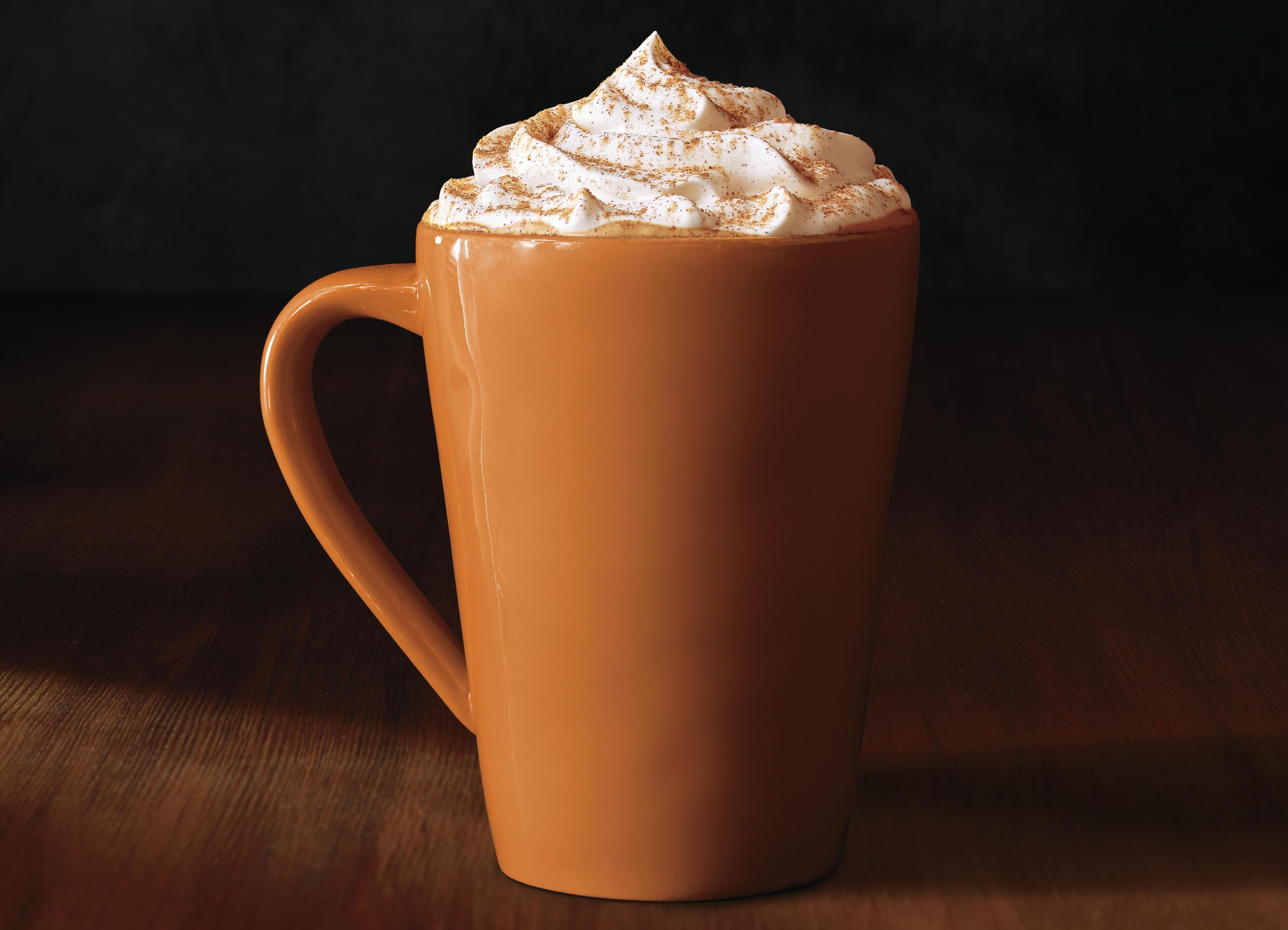 The pumpkin spice latte returns to Starbucks starting Tuesday.