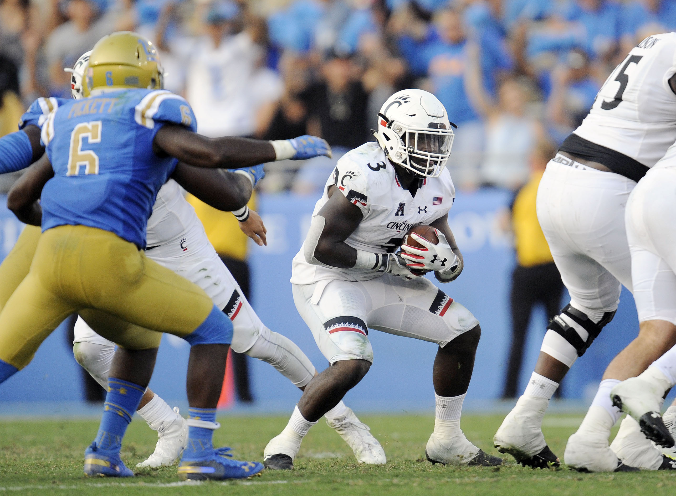 NCAA Football: Cincinnati at UCLA