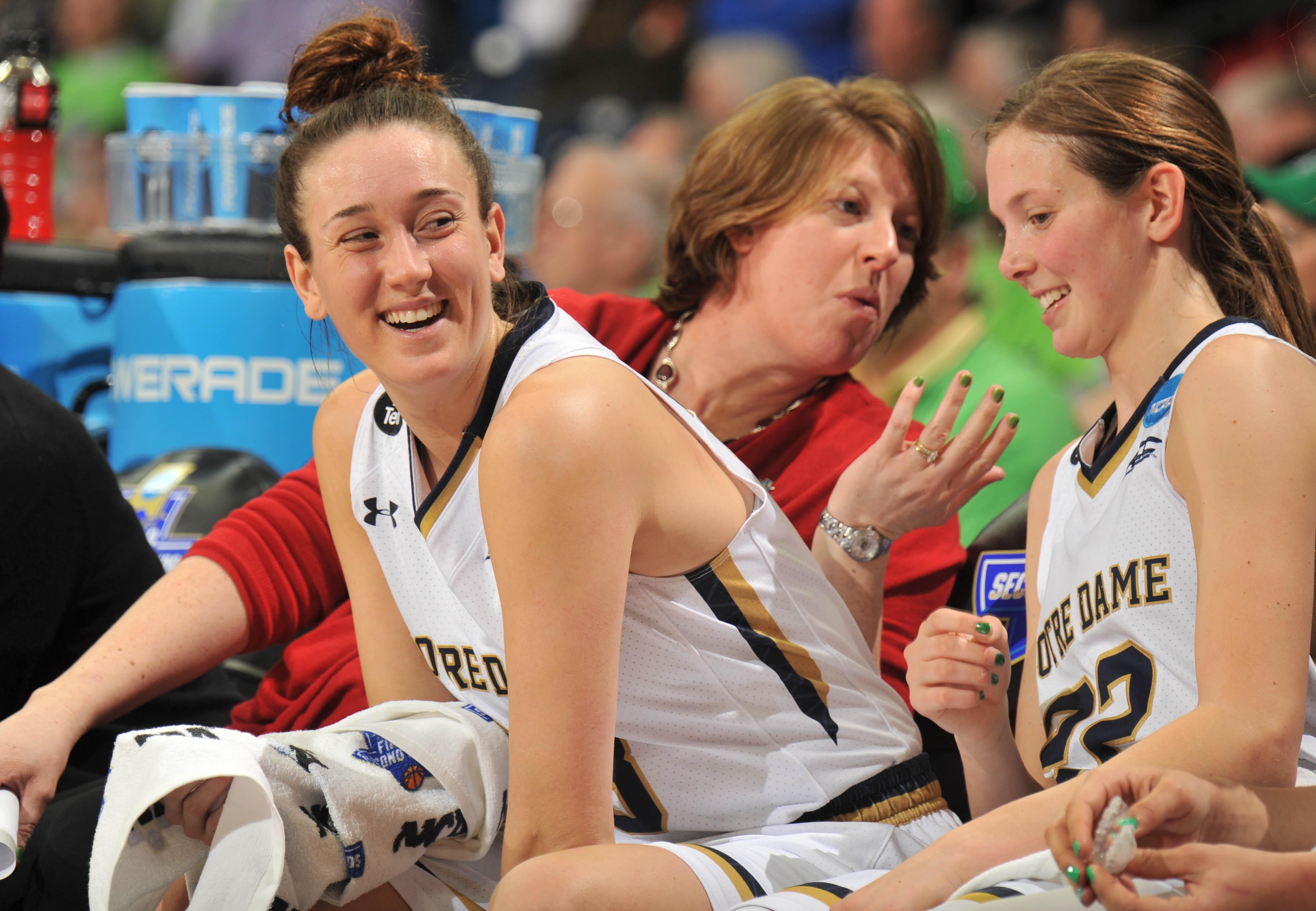 NCAA Womens Basketball: NCAA Tournament-First Round-Notre Dame vs North Carolina A&T