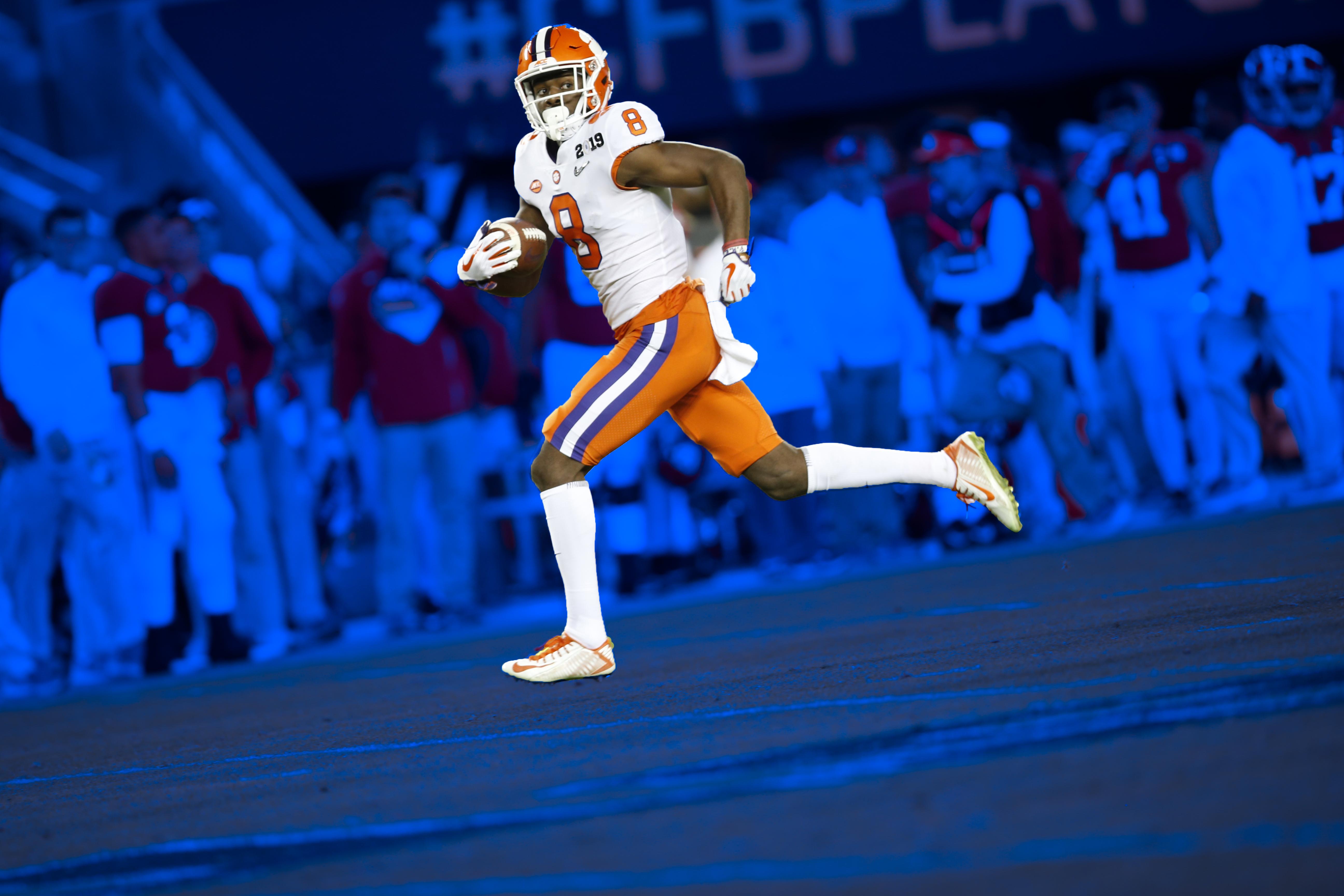 Justyn Ross against Alabama