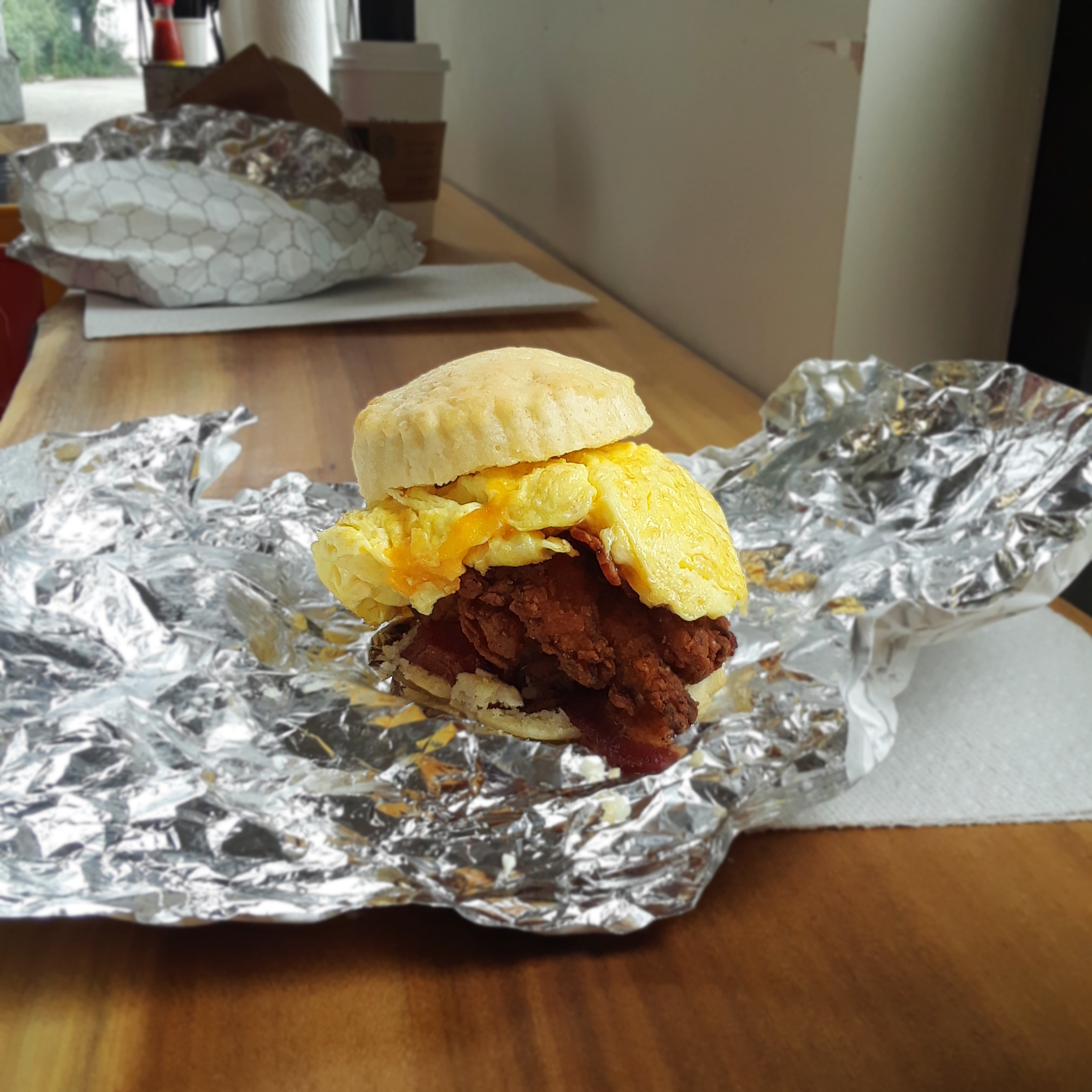 Chicken Biscuit Shop Opens Right Off Upper King