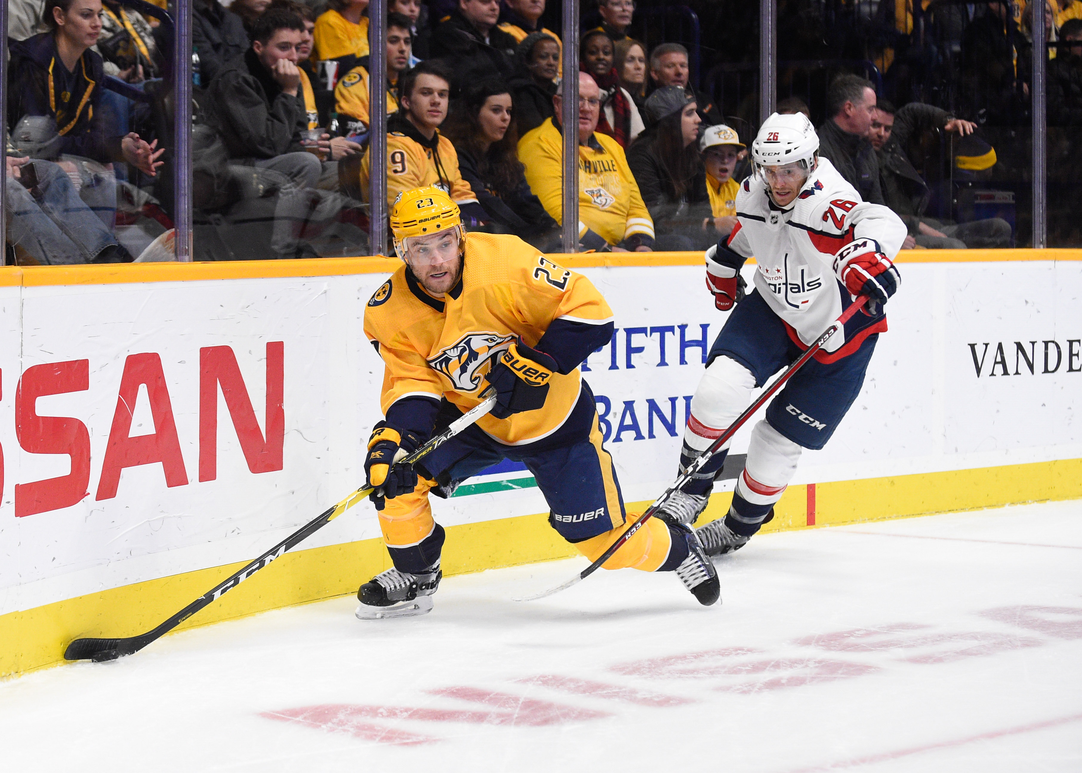 NHL: Washington Capitals at Nashville Predators