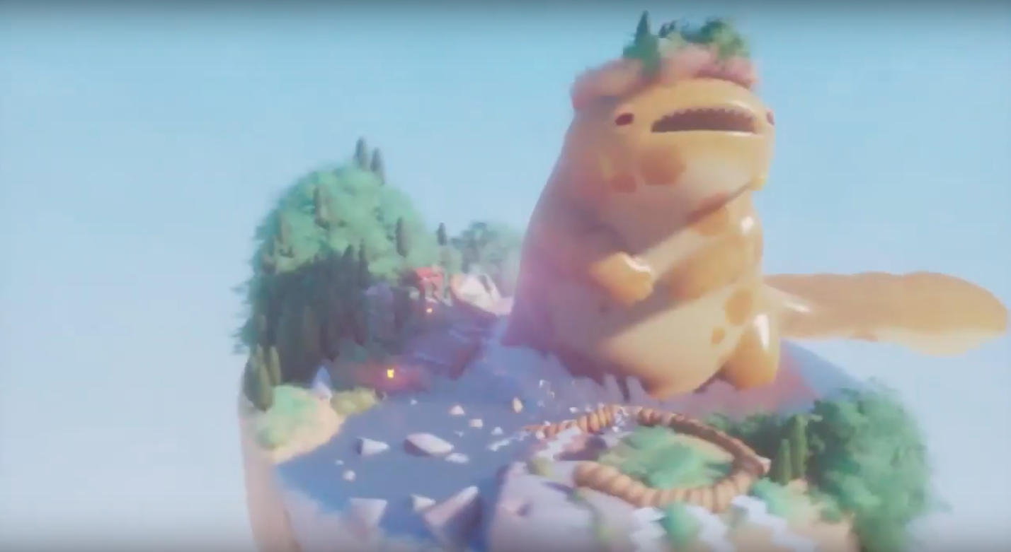 Look at this amazing kaiju game a player made in Dreams