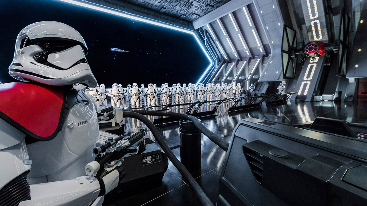 Disney's new Star Wars ride looks right out of a movie set