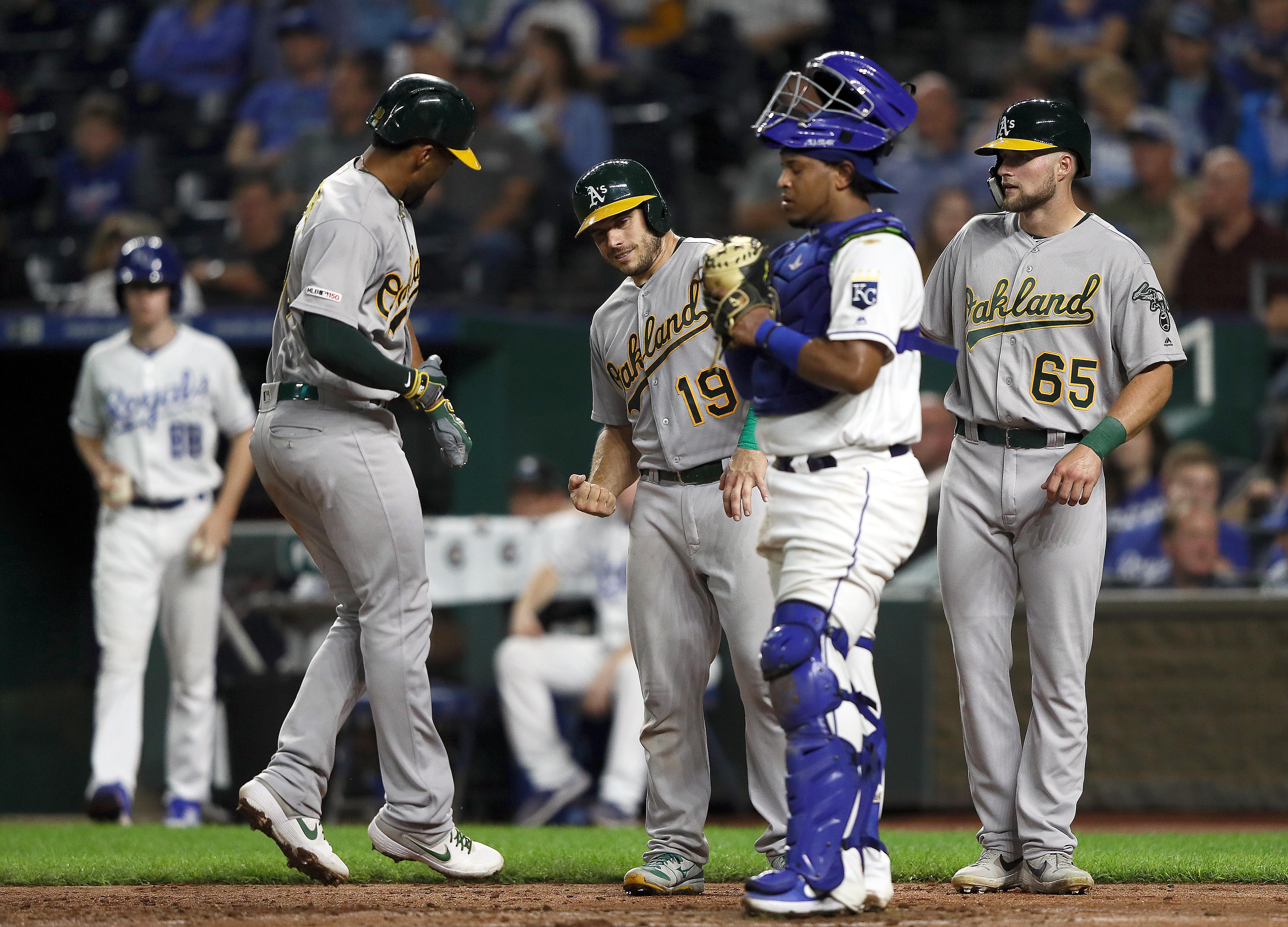 Oakland Athletics v Kansas City Royals