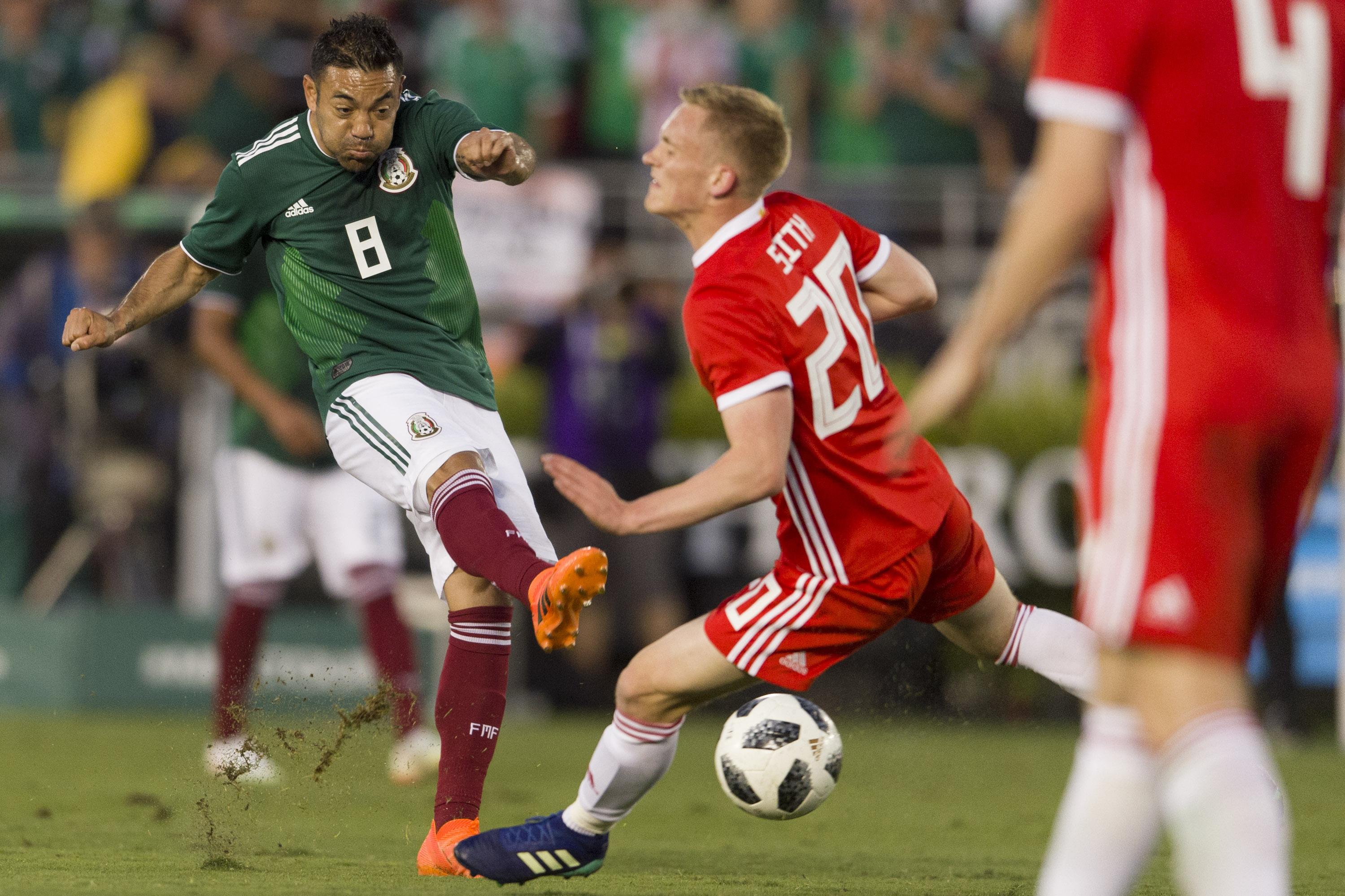 Soccer: Mexico vs Wales