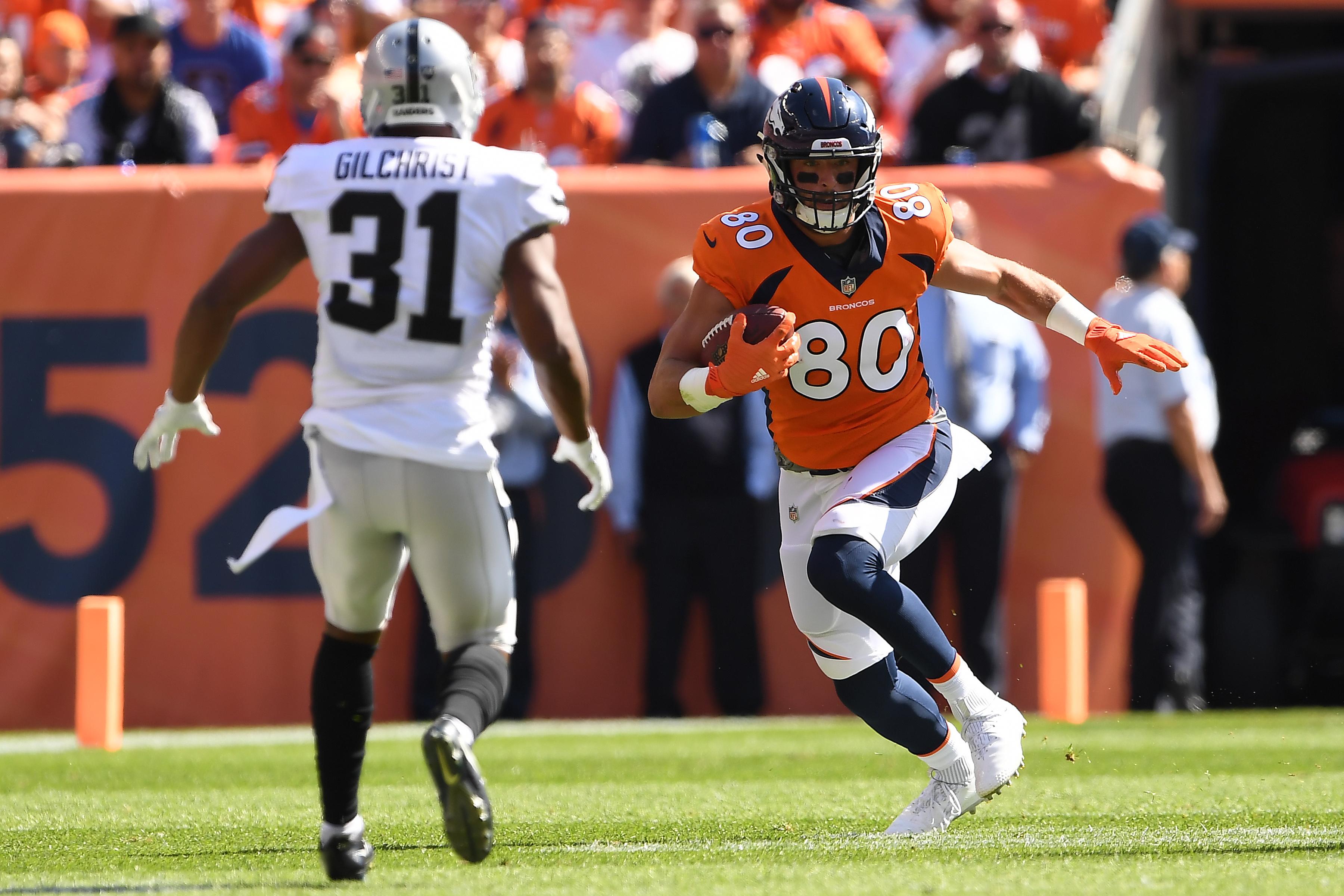 Denver Broncos vs. Oakland Riaders, NFL Week 2