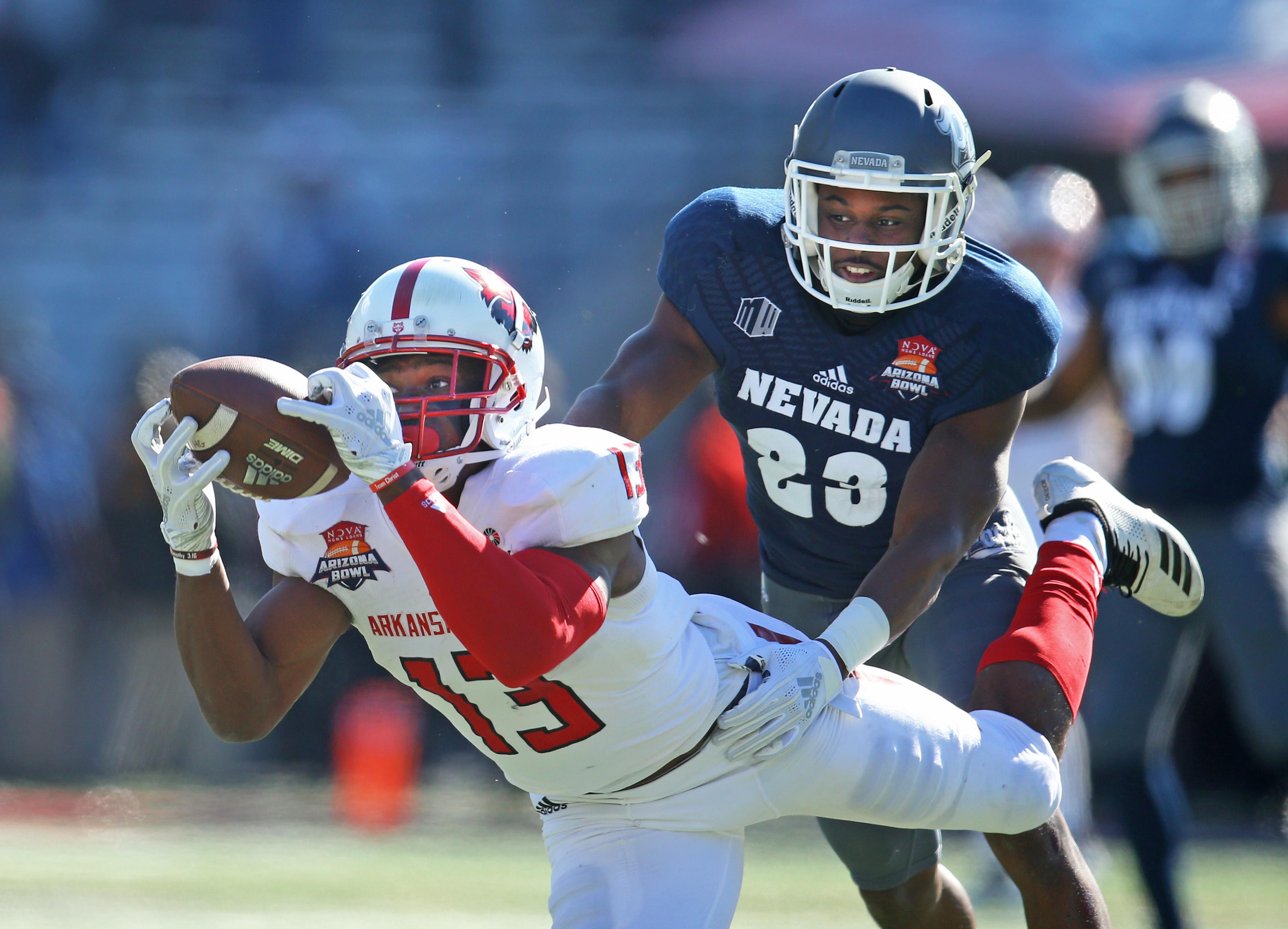NCAA Football: Arizona Bowl-Arkansas State vs Nevada