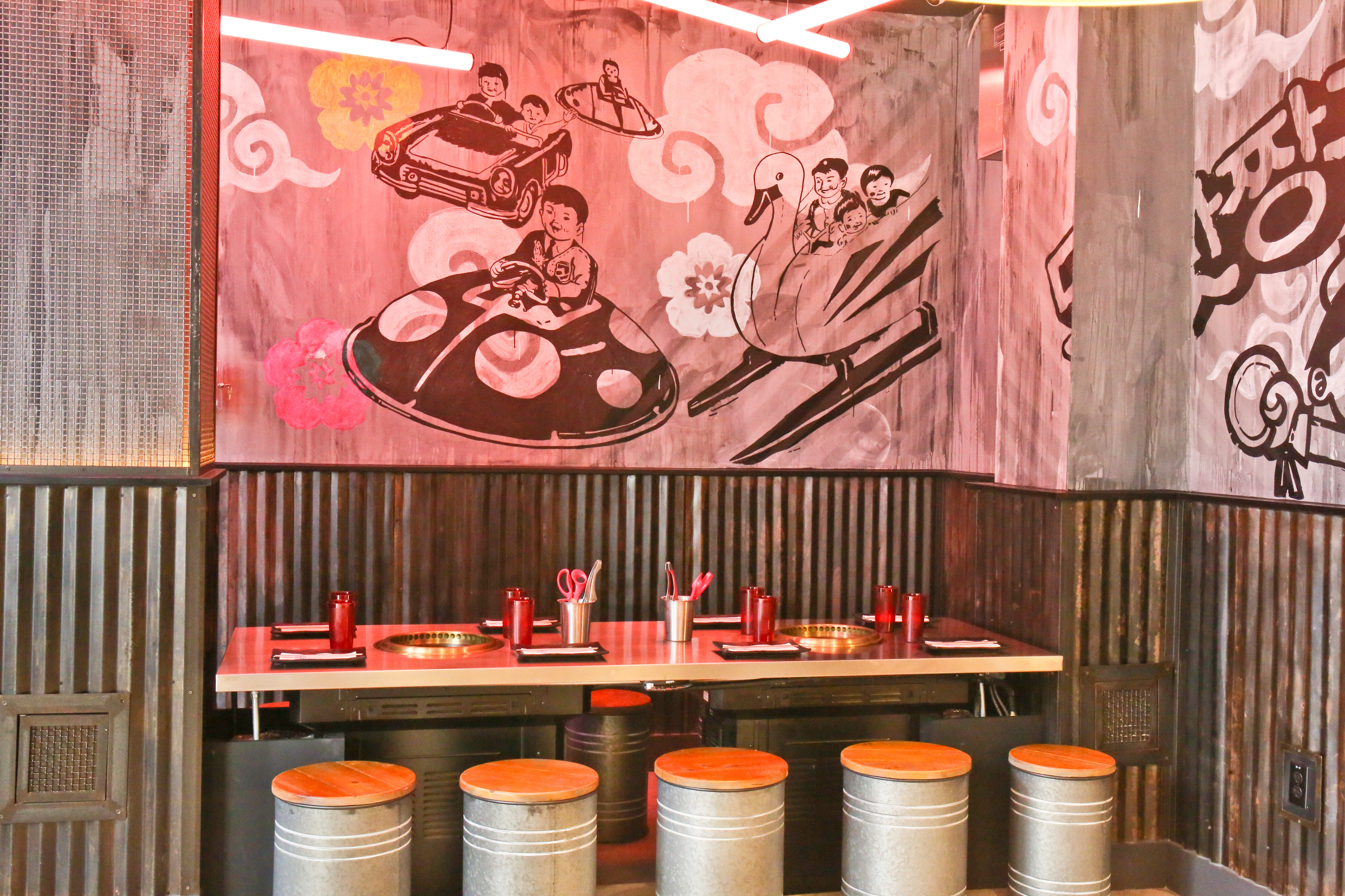 D.C.'s First Korean Barbecue Joint Outfitted With Tabletop Grills Opens in Shaw