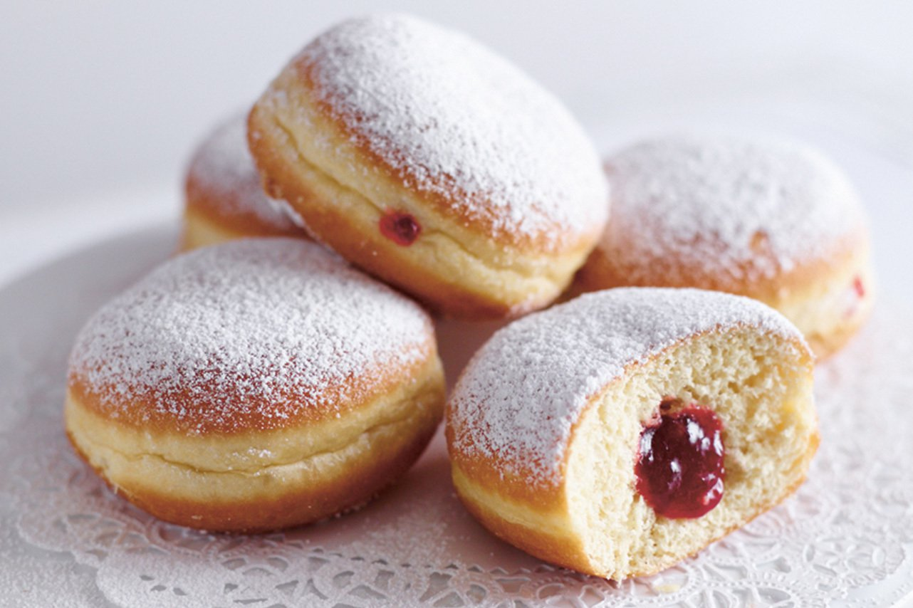 Berliner donuts from Hahdough