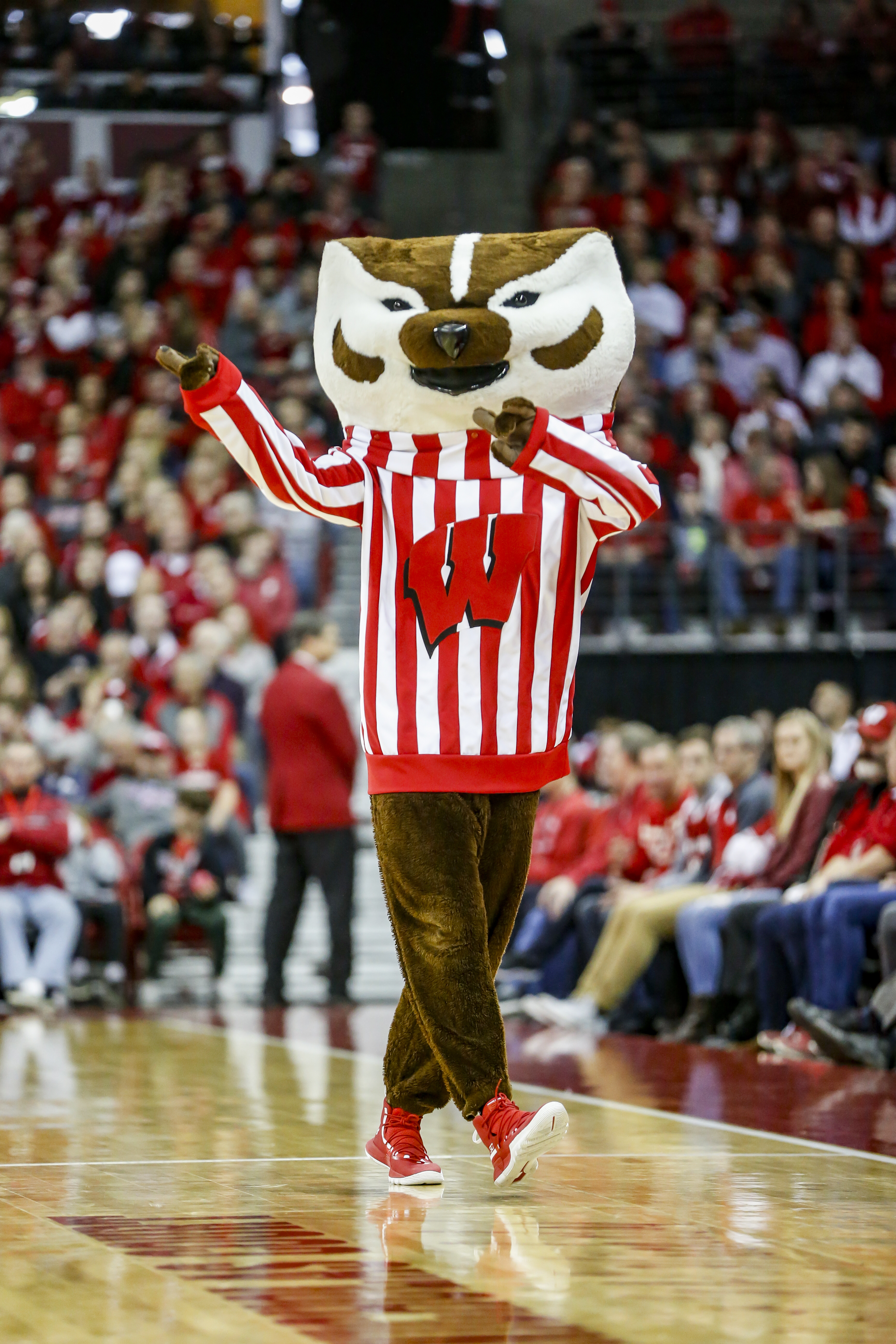 COLLEGE BASKETBALL: MAR 02 Penn State at Wisconsin