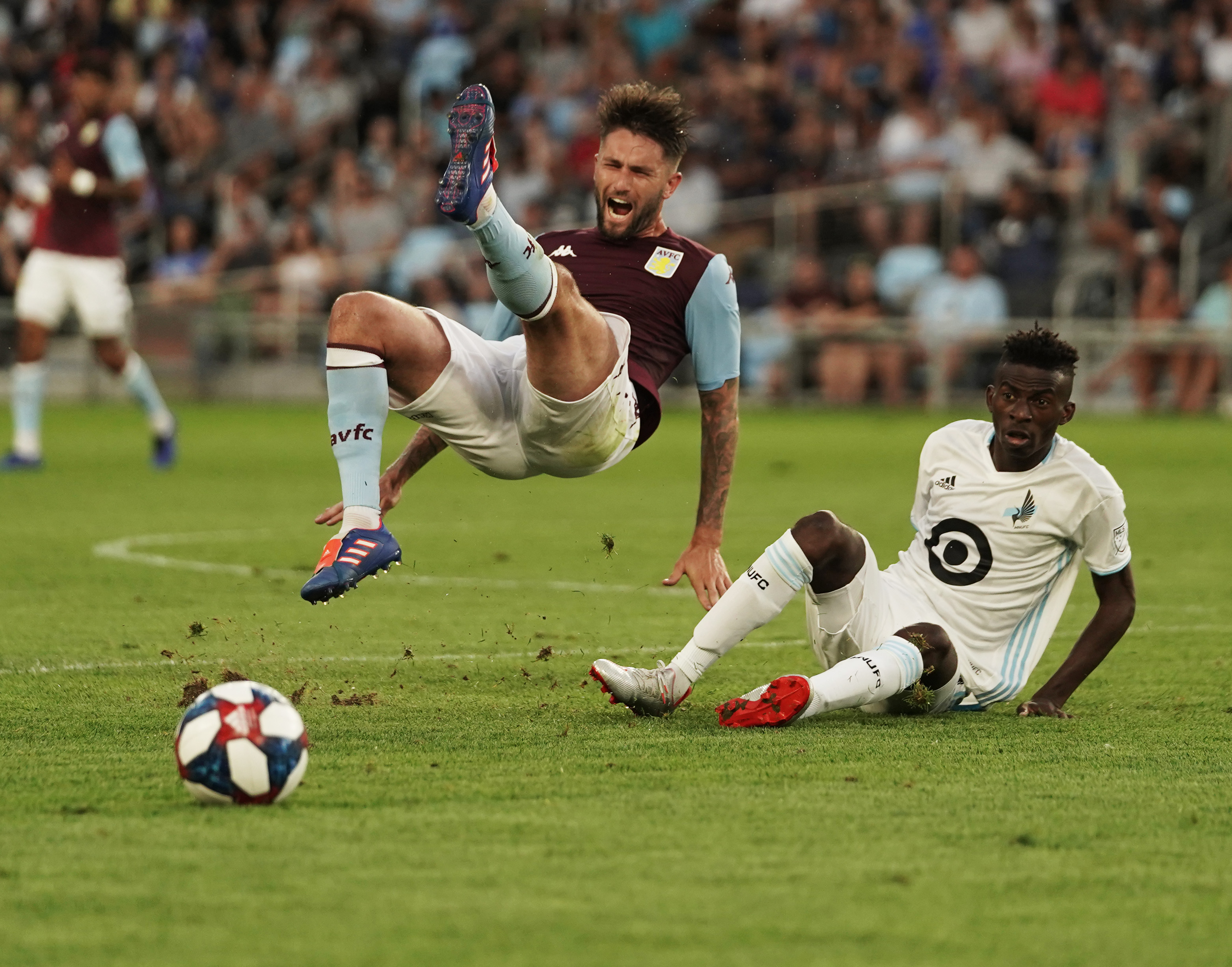 Minnesota United rests players and lose friendly to Aston Villa.