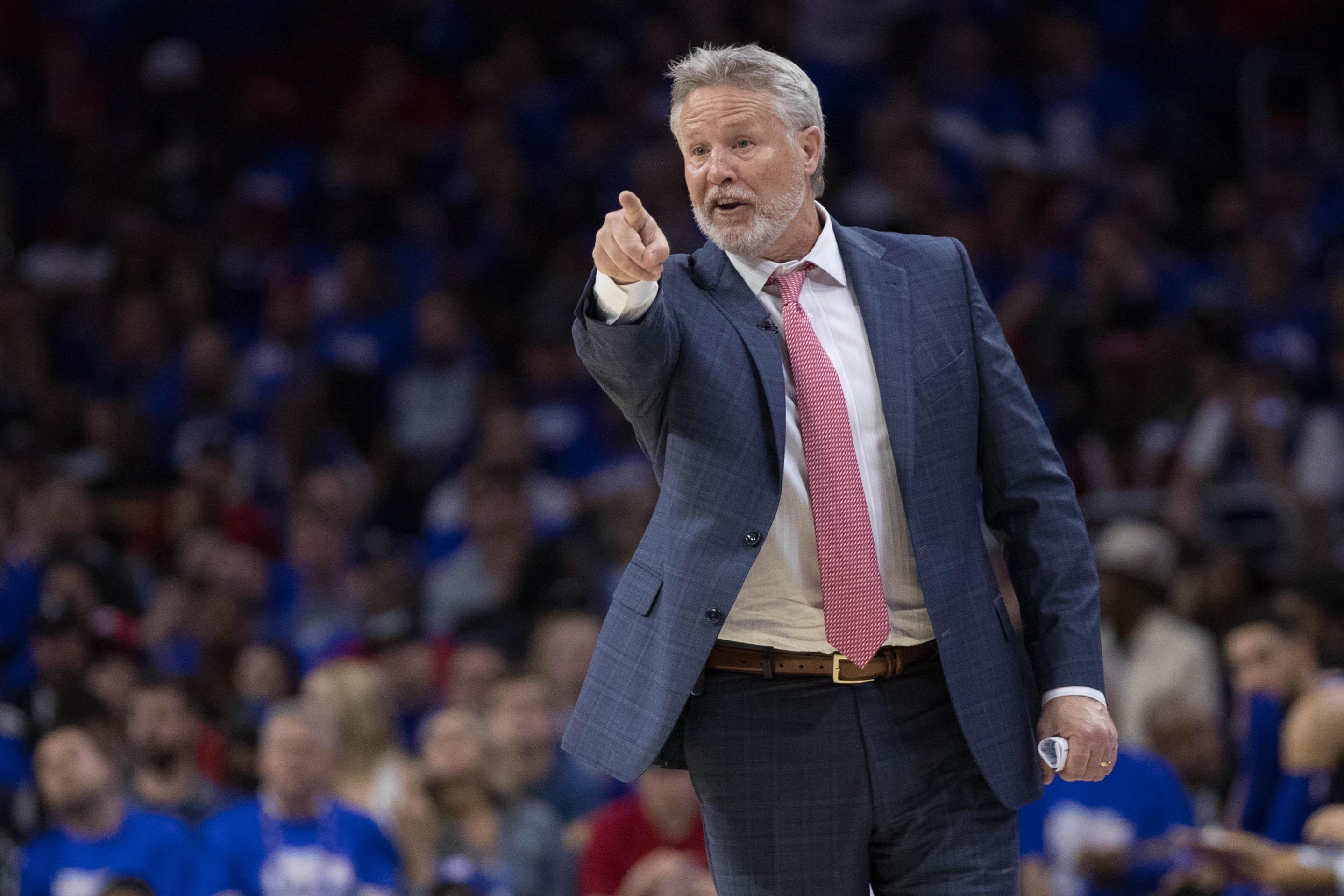 NBA: Playoffs-Brooklyn Nets at Philadelphia 76ers
