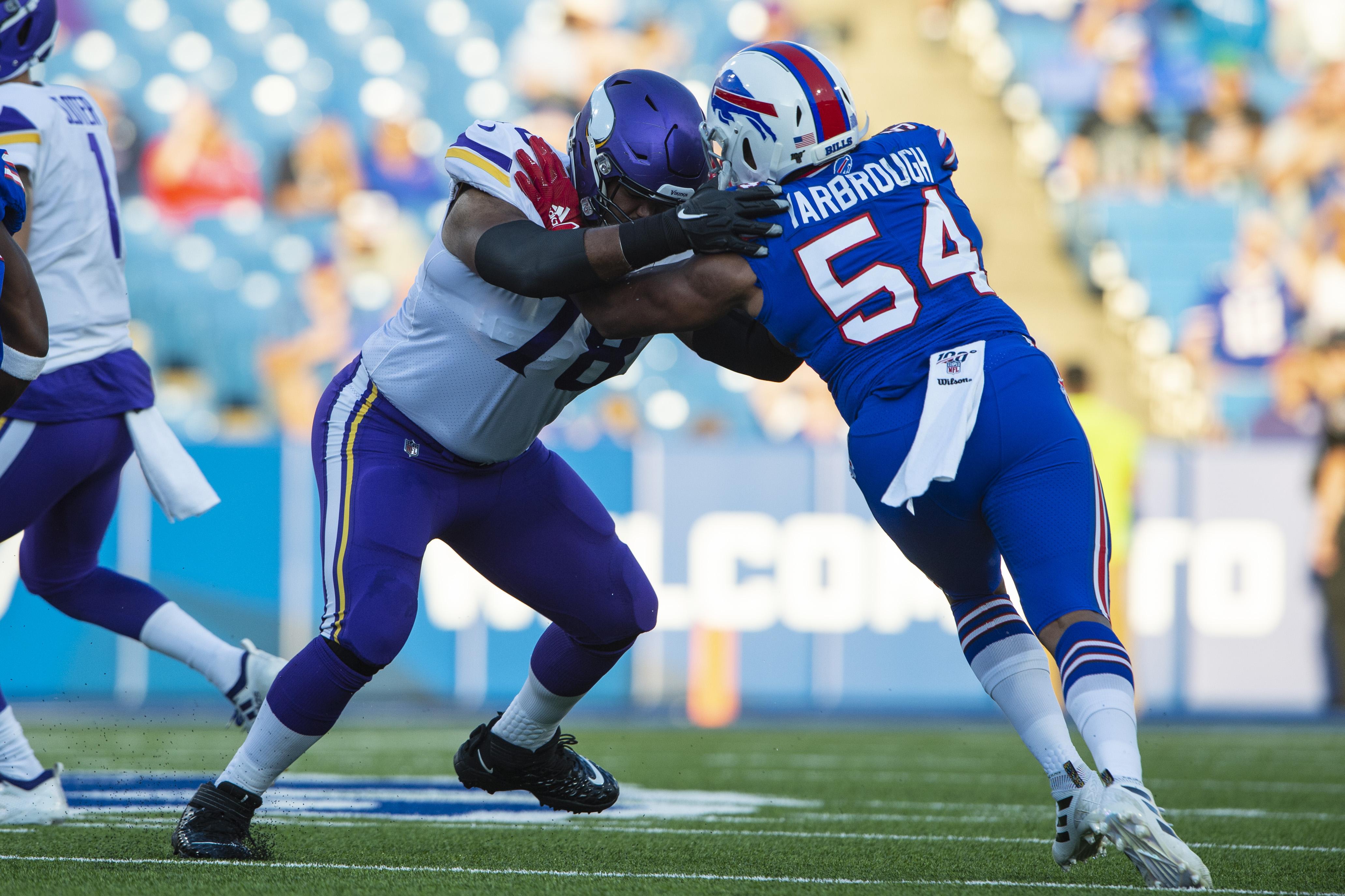 NFL: AUG 29 Preseason - Vikings at Bills