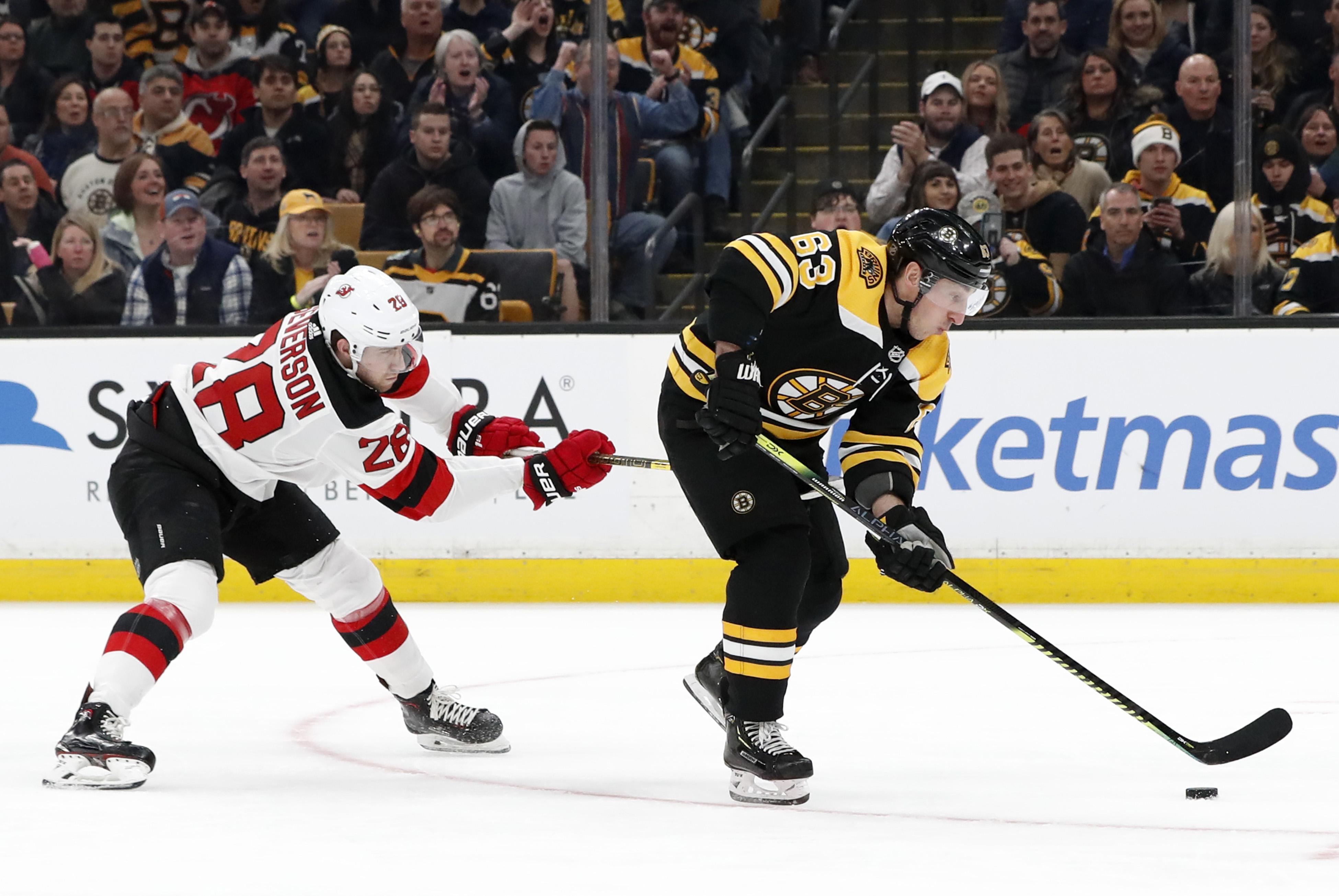 NHL: MAR 02 Devils at Bruins