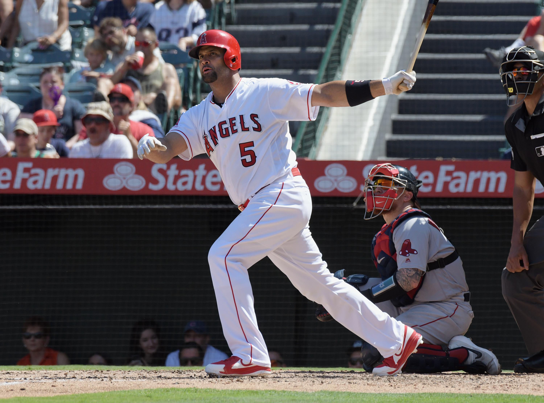 MLB: SEP 01 Red Sox at Angels
