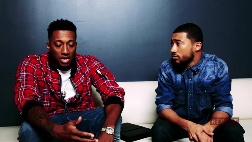 Lecrae and Lawrence K. Jackson
