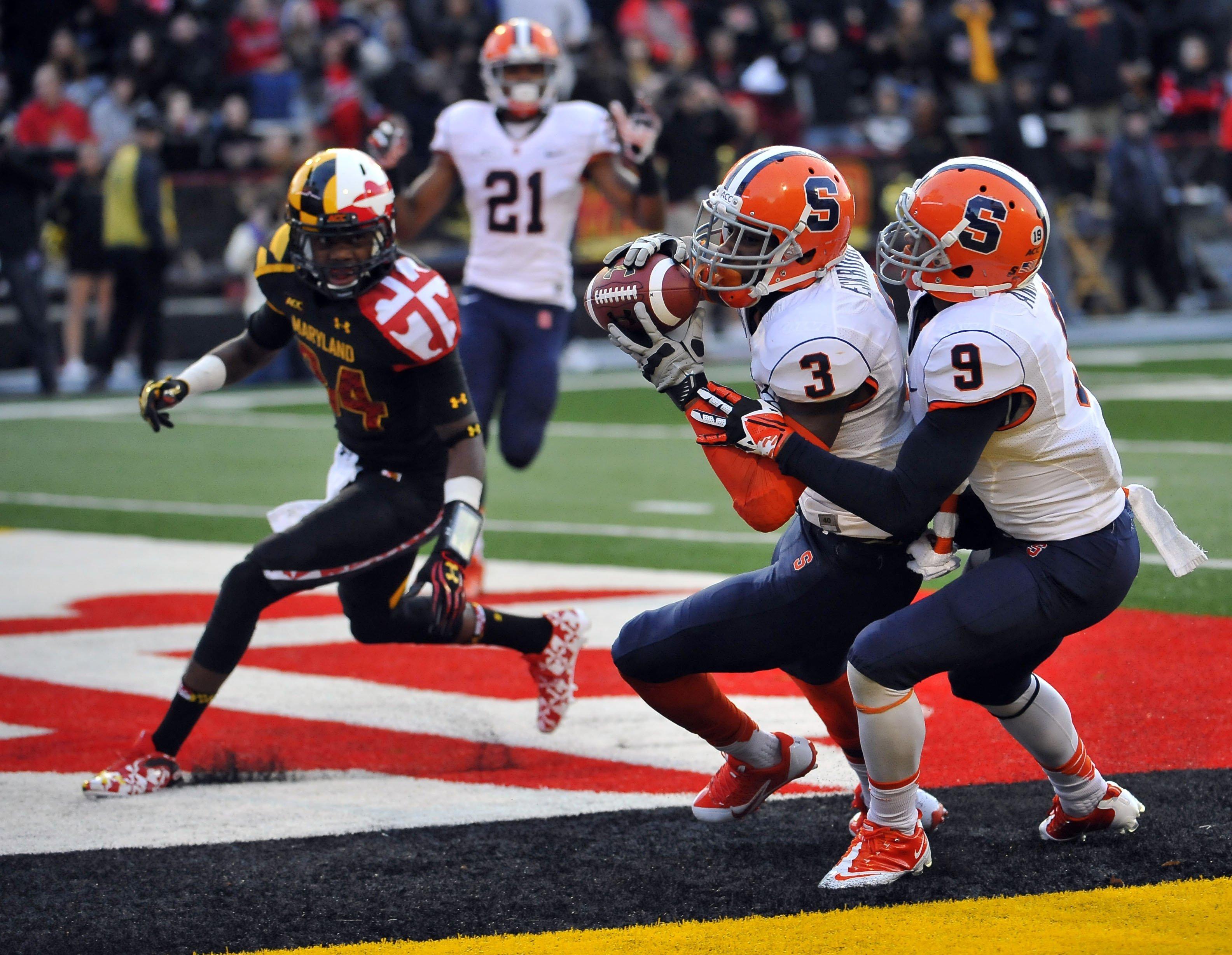 Syracuse v Maryland football