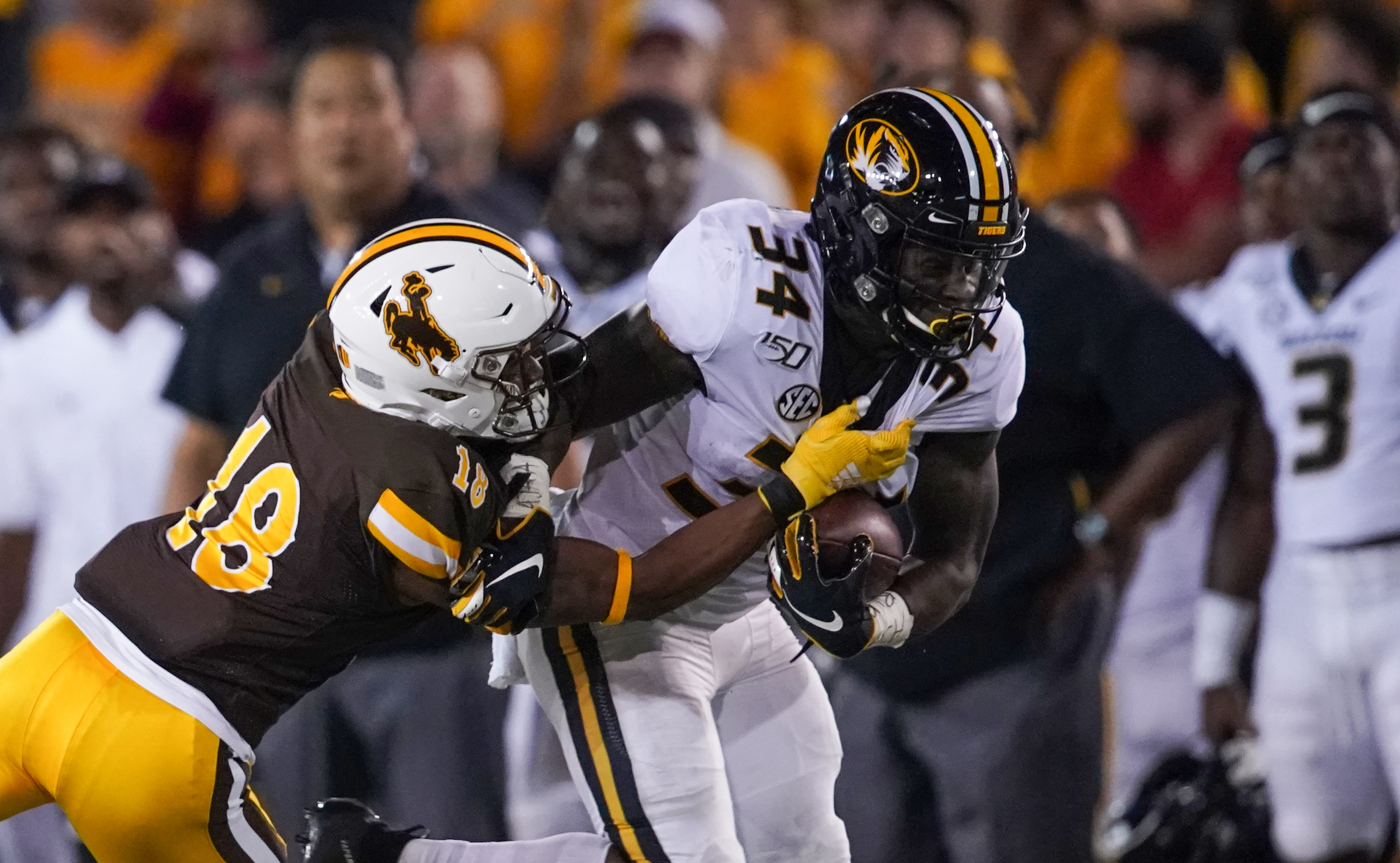 NCAA Football: Missouri at Wyoming