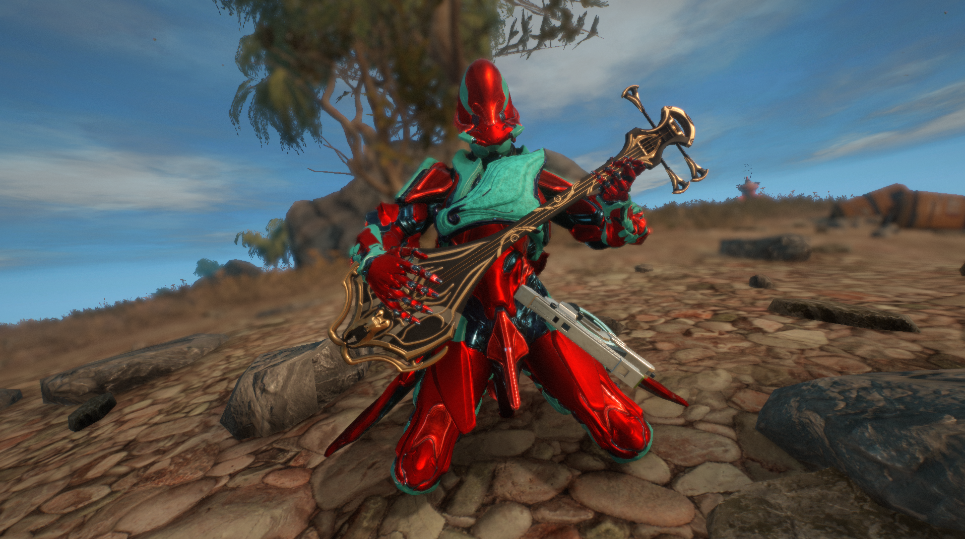 Warframe now has fully functional guitars, and it slaps