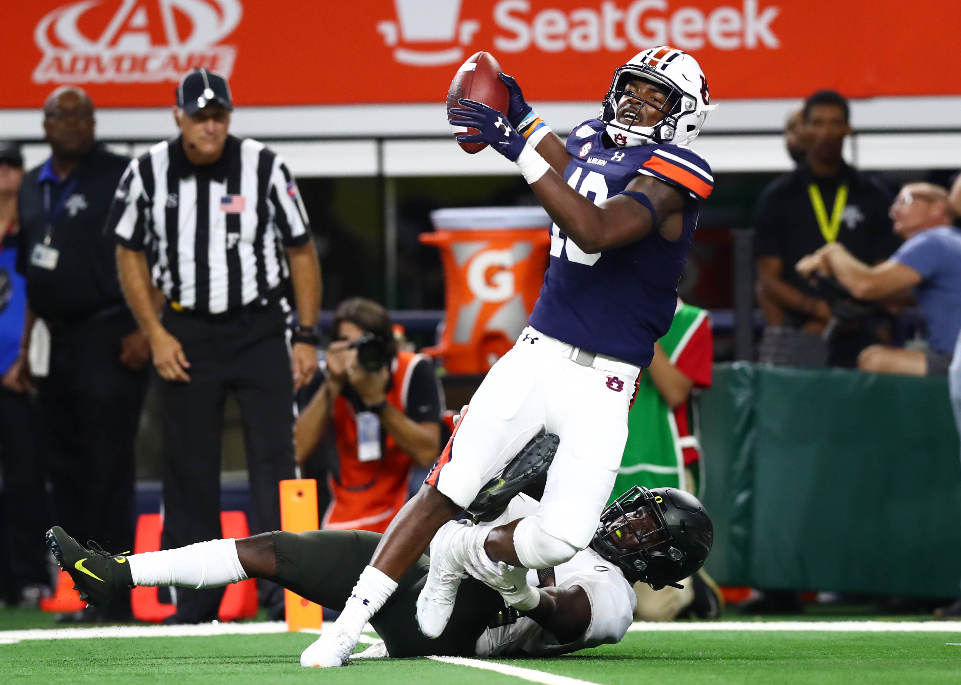 NCAA Football: Advocare Classic-Auburn vs Oregon