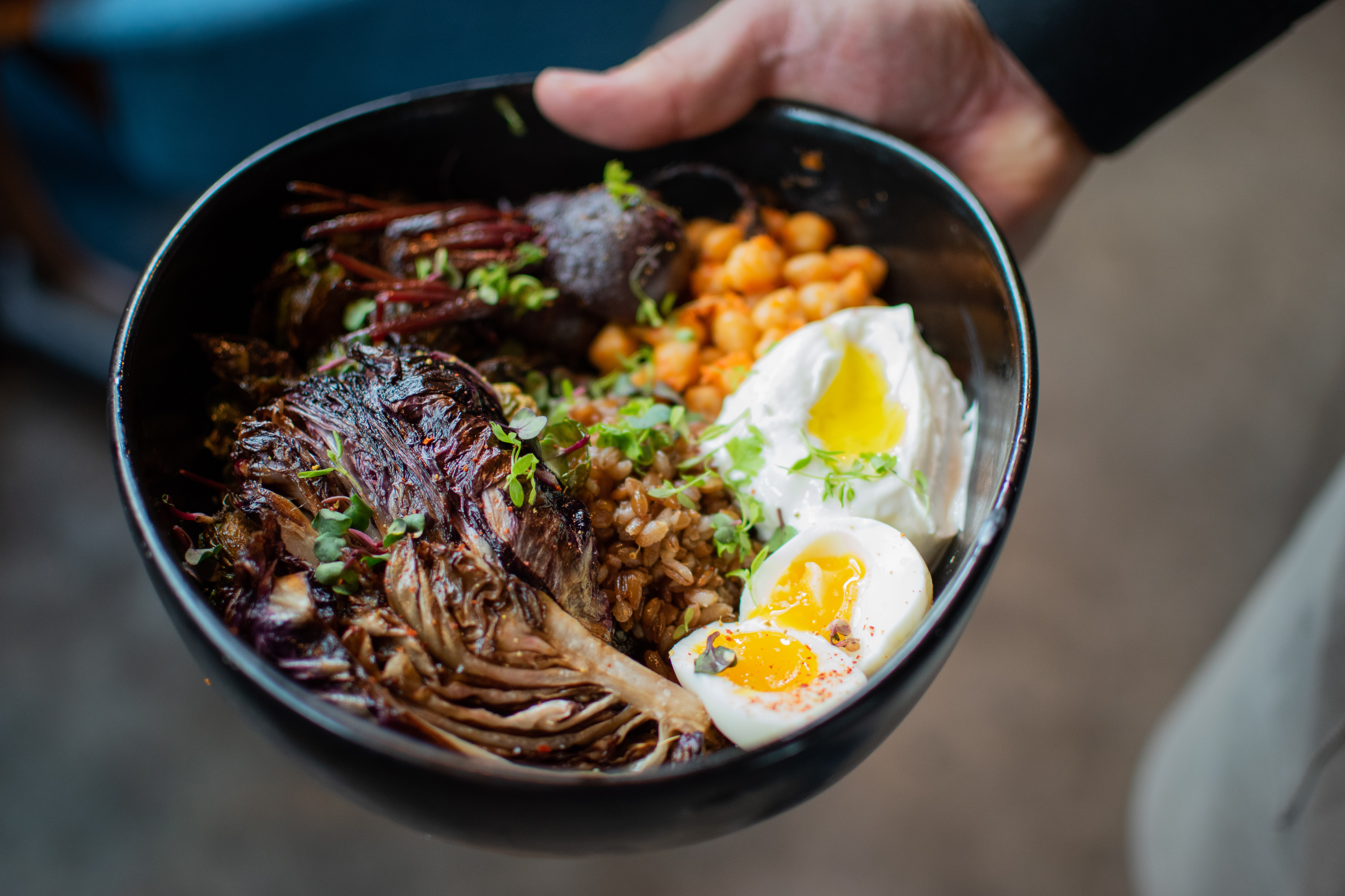 A farro bowl from Provision