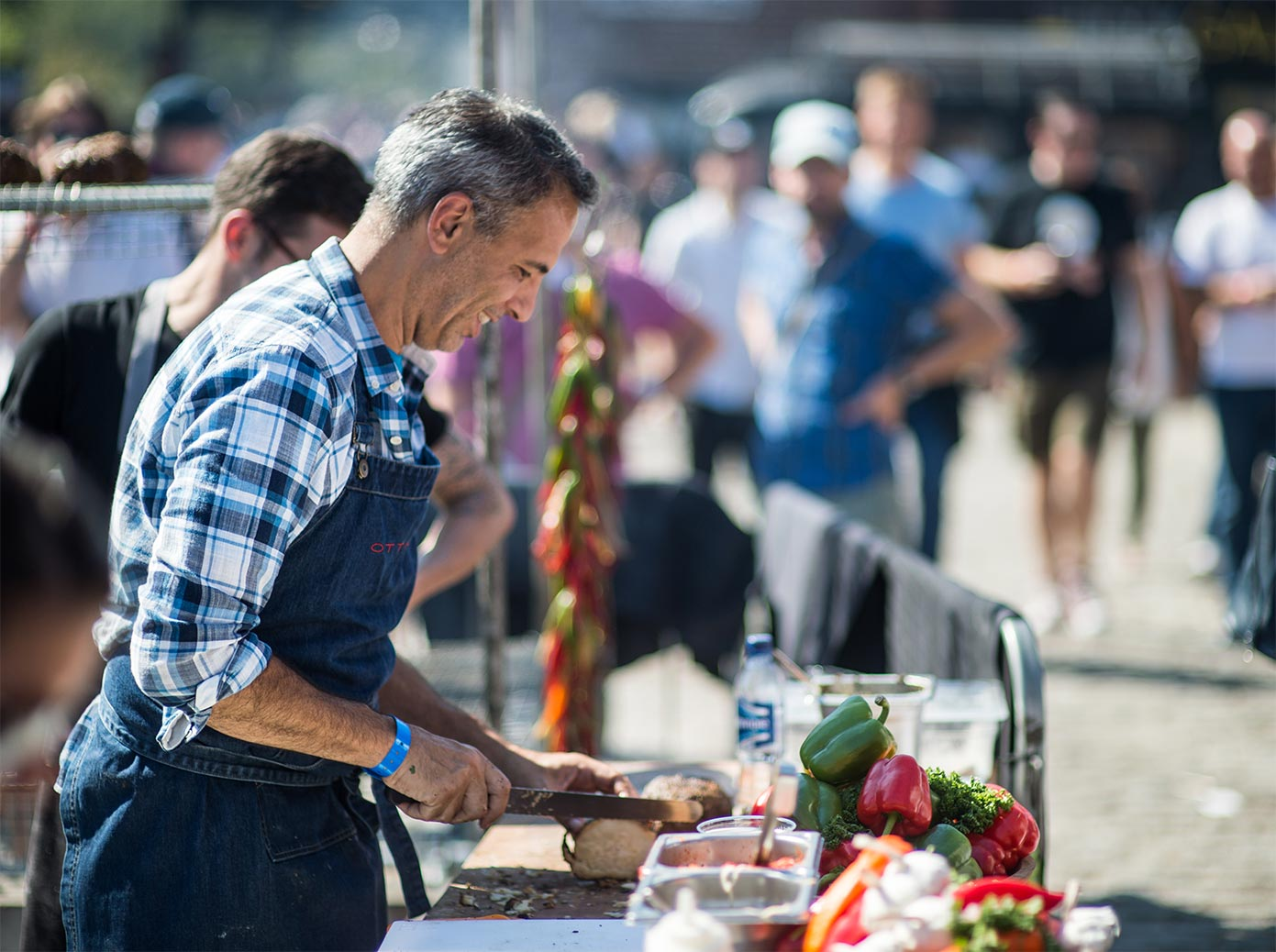 Yotam Ottolenghi at Meatopia 2018