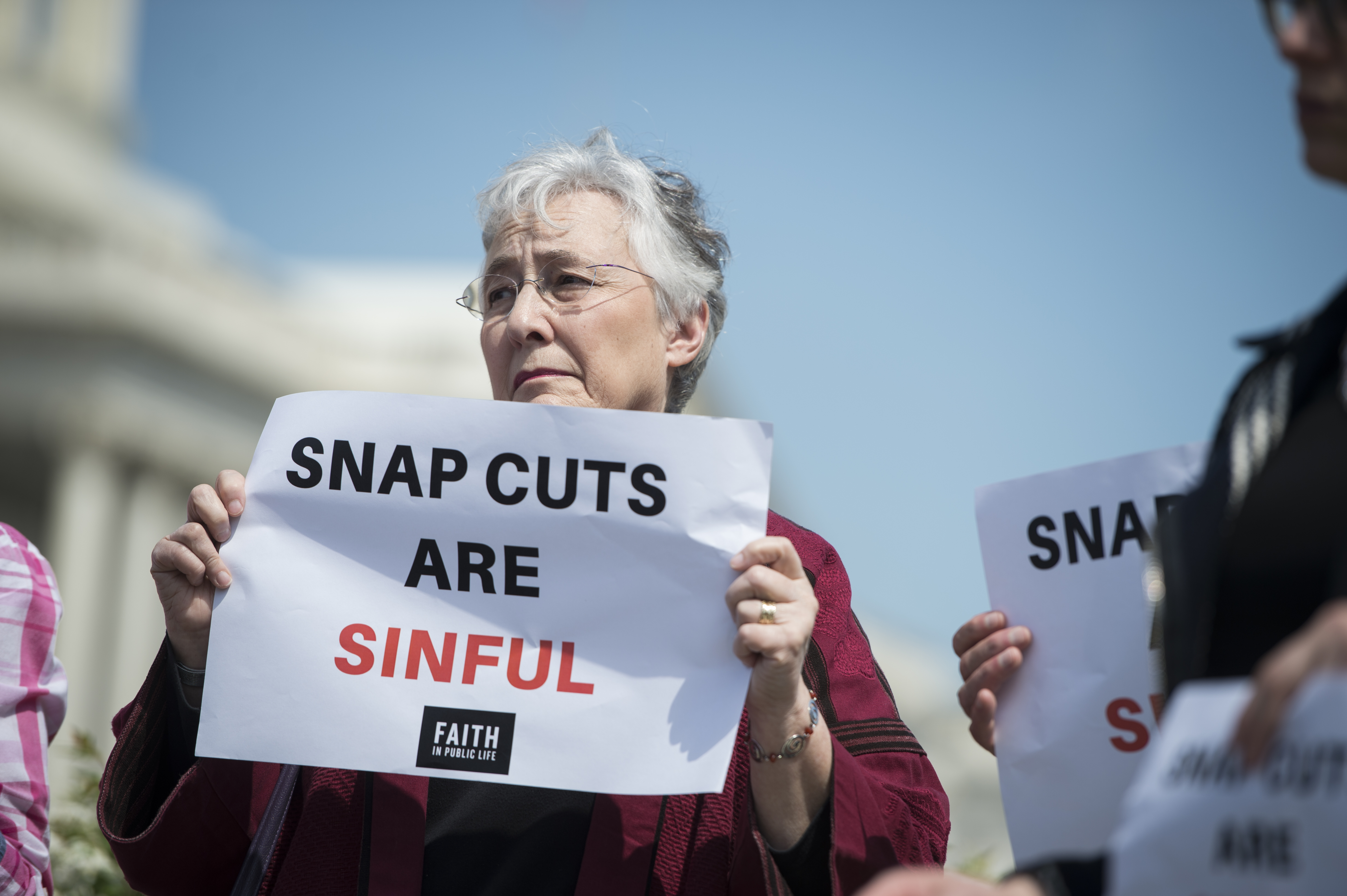 Inside the shadowy think tank pushing to kick 3.1 million people off food stamps
