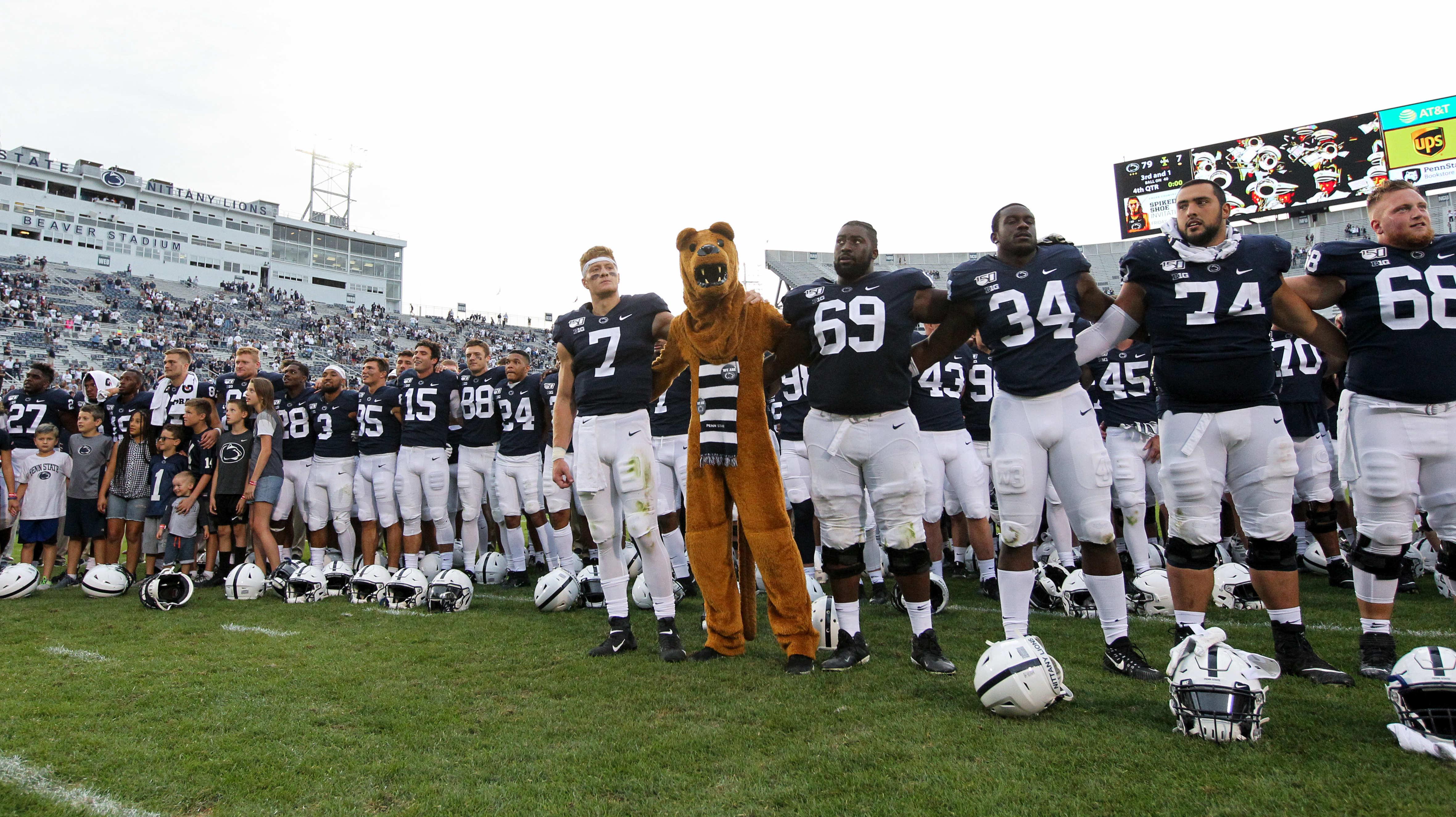 NCAA Football: Idaho at Penn State