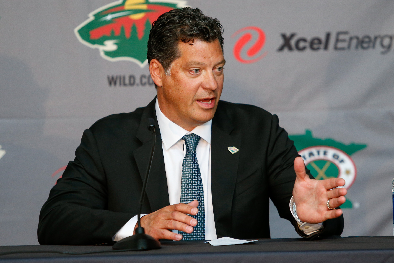 Minnesota Wild Introduce Bill Guerin