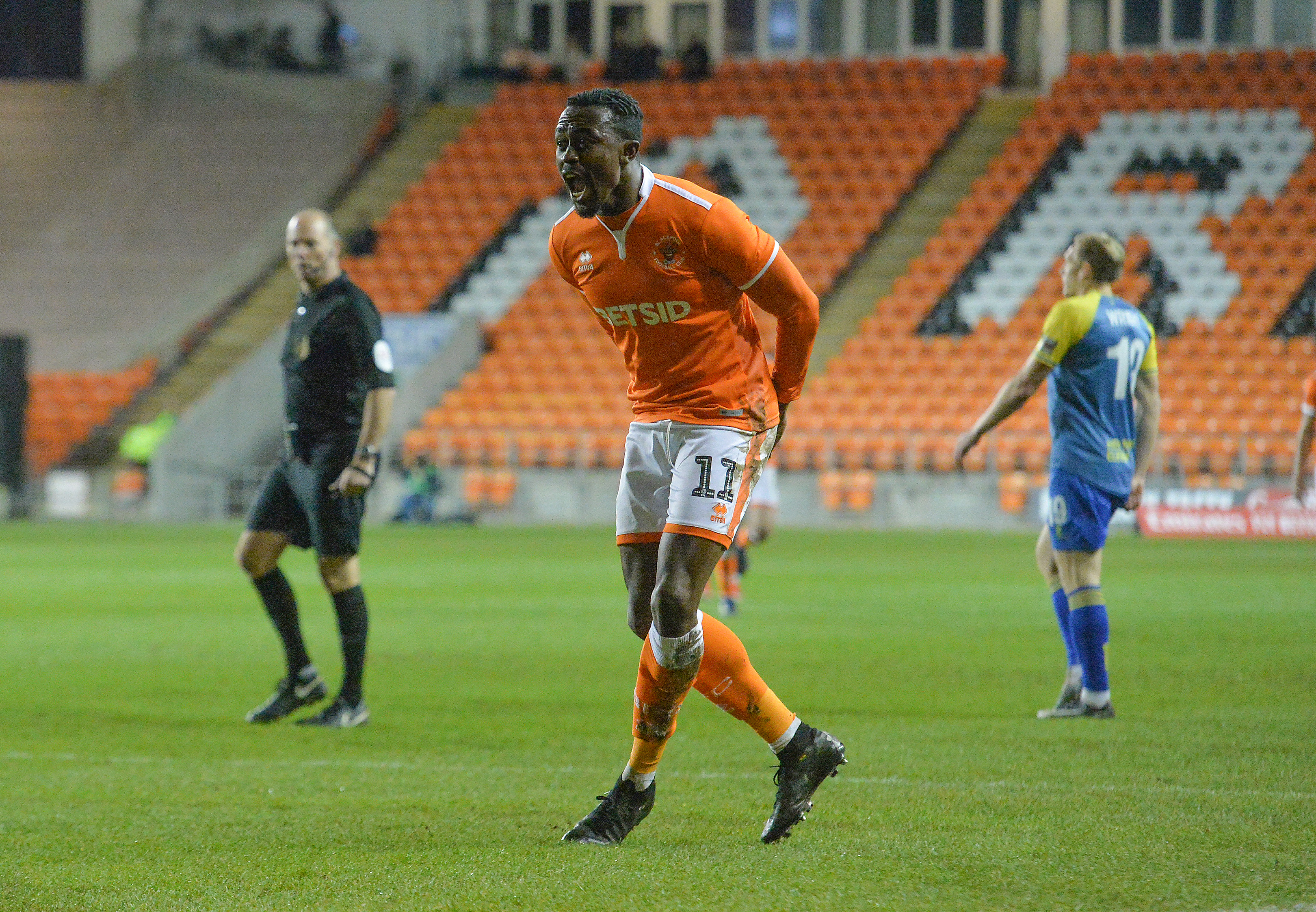 Blackpool v Solihull Moors - FA Cup Second Round Replay