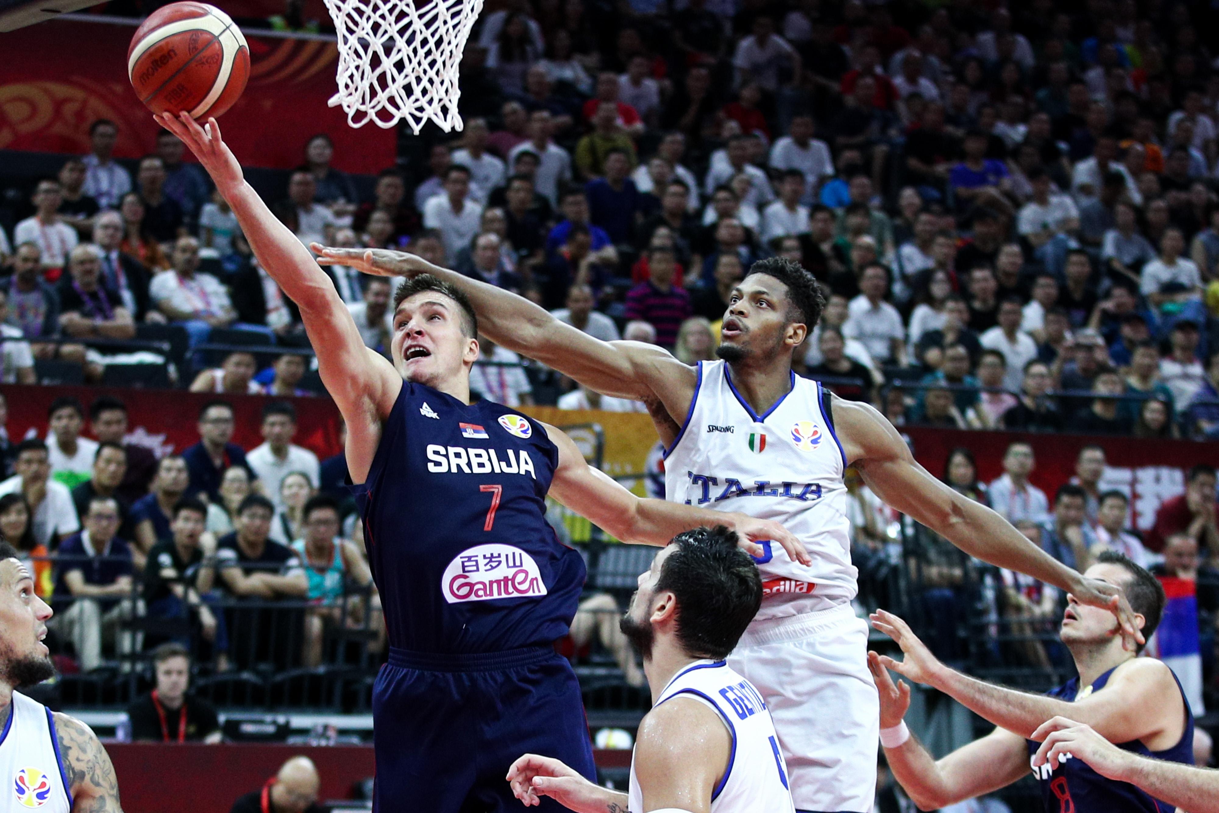 Italy v Serbia: Group D - FIBA World Cup 2019