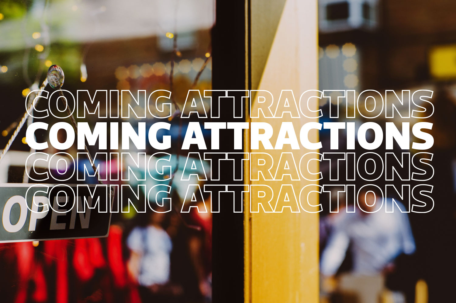 A Coming Attractions graphic