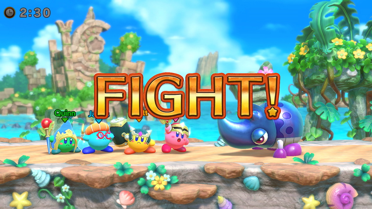 Super Kirby Clash is Nintendo's newest Kirby game, and it's out now