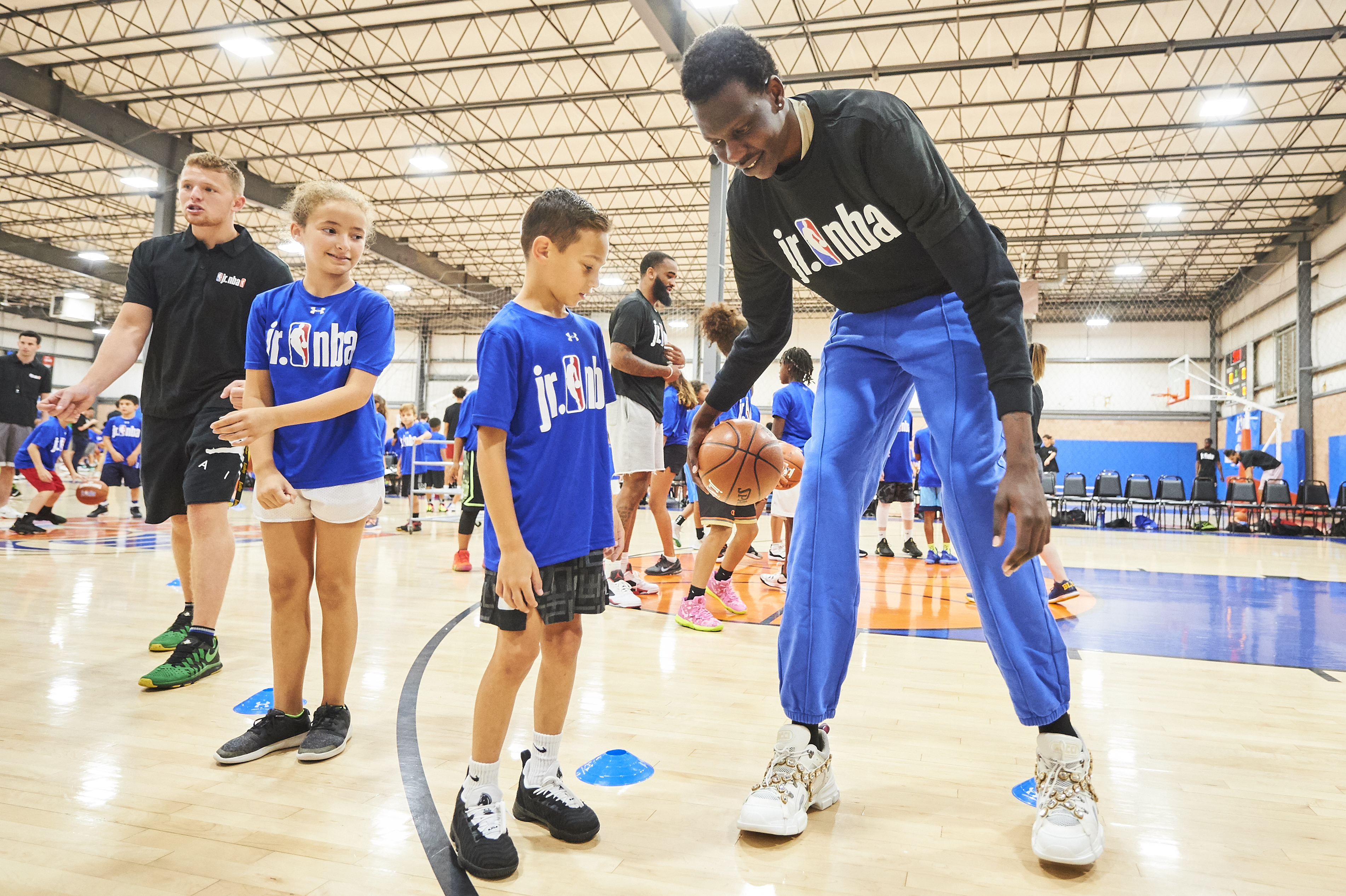 Rookie Transition Program Jr. NBA Clinic at Hoop Heaven