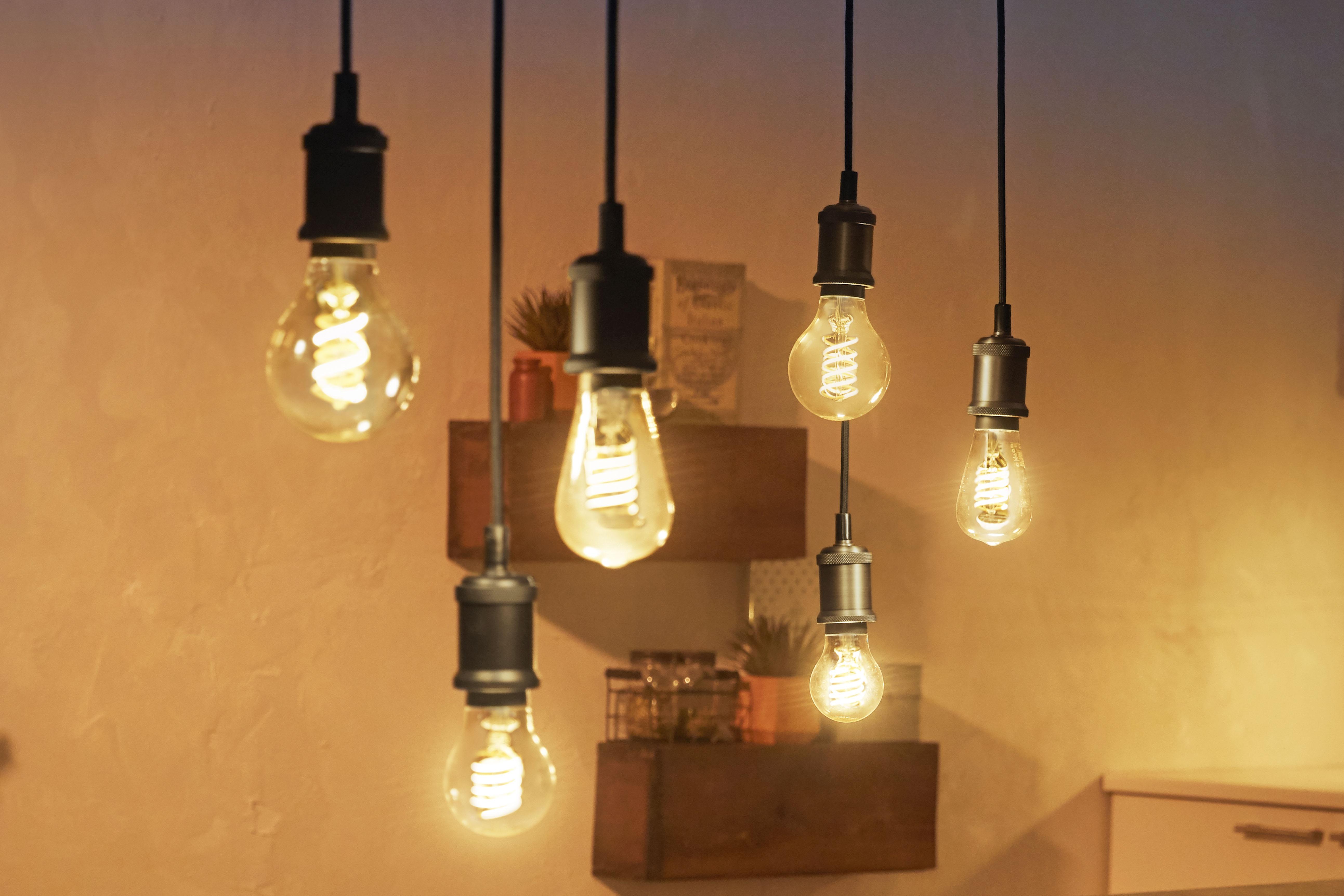 Hue Edison bulbs