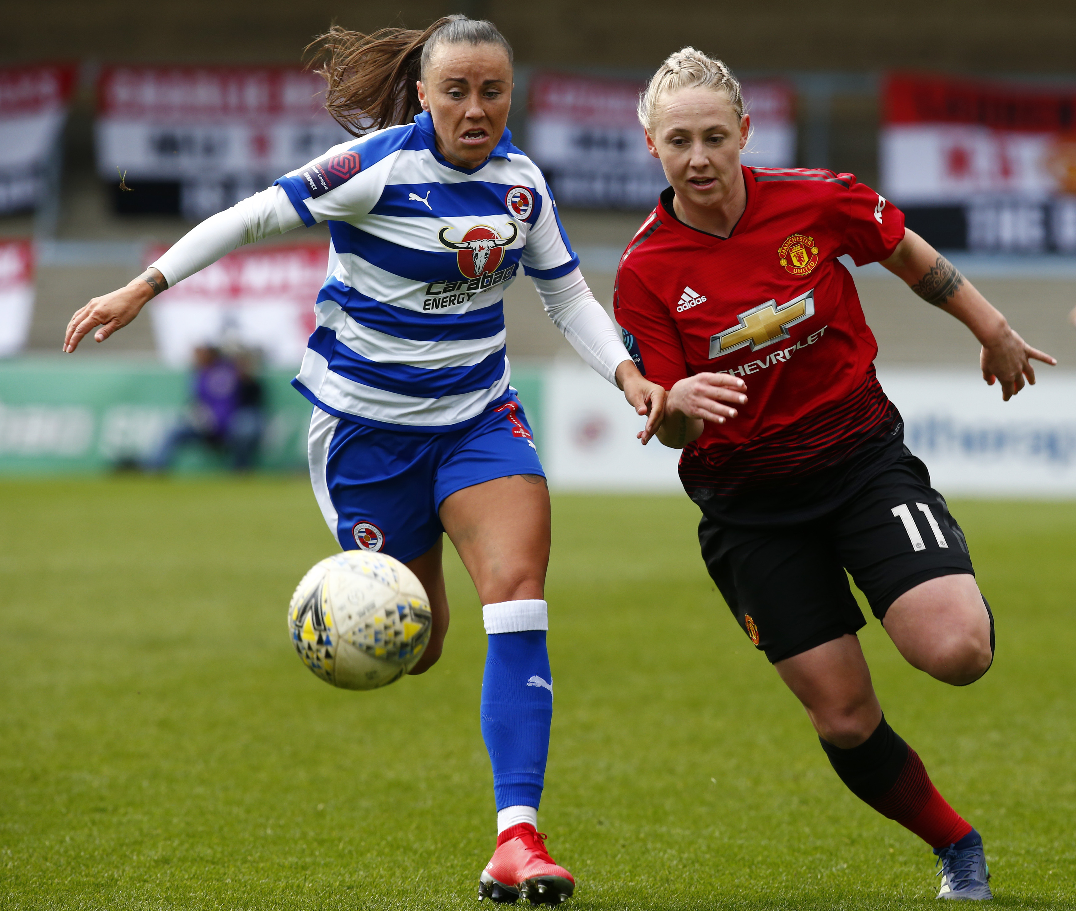 Reading FC Women v Manchester United Women - The SSE Womens FA Cup - Quarter Final
