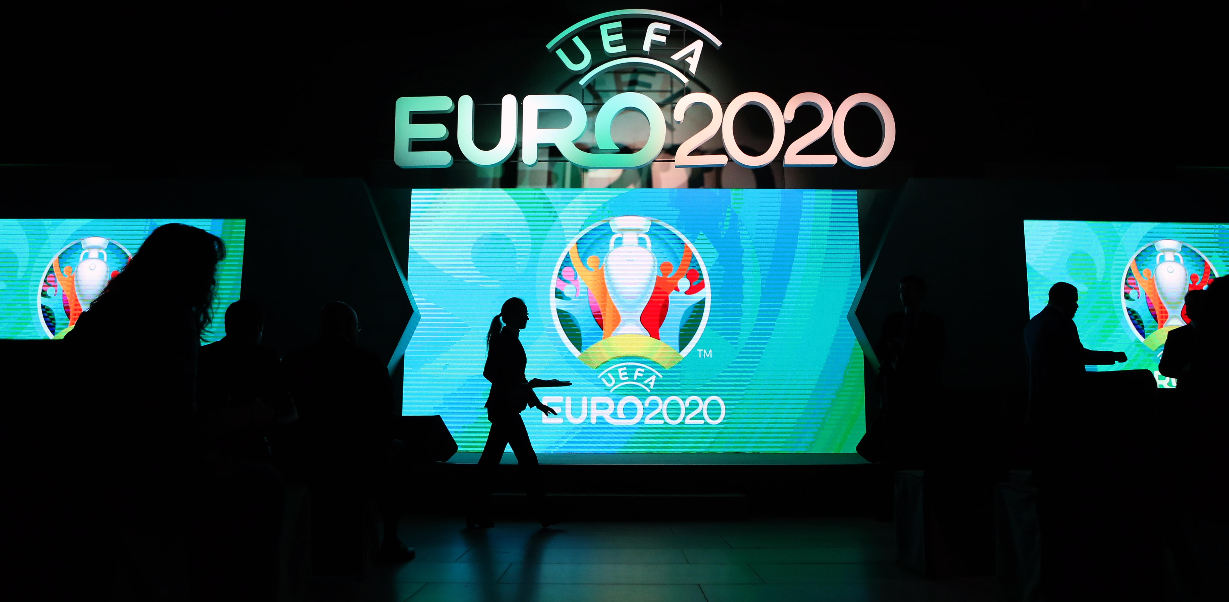 St Petersburg unveils UEFA Euro 2020 host city logo